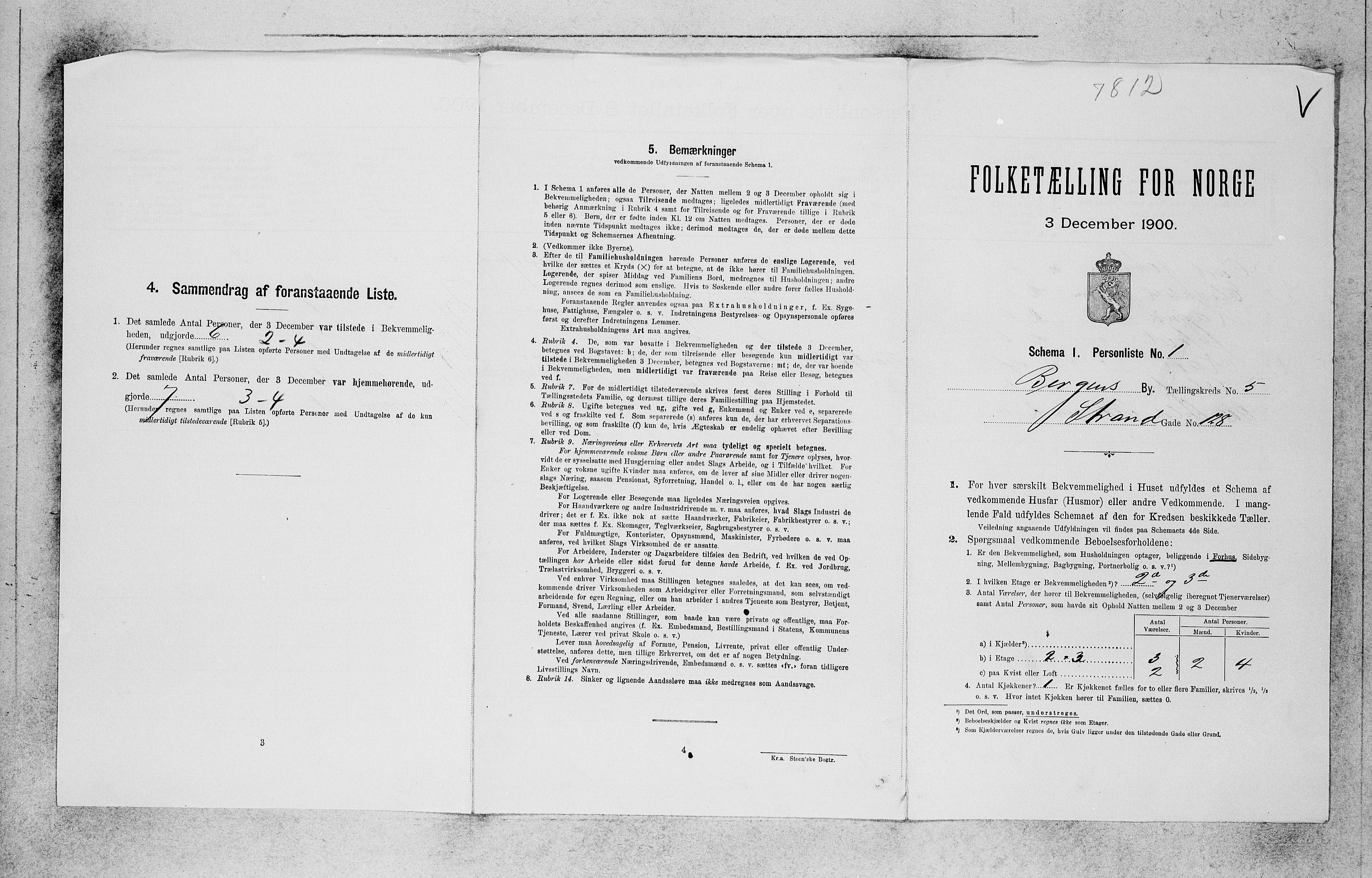 SAB, Folketelling 1900 for 1301 Bergen kjøpstad, 1900, s. 1002