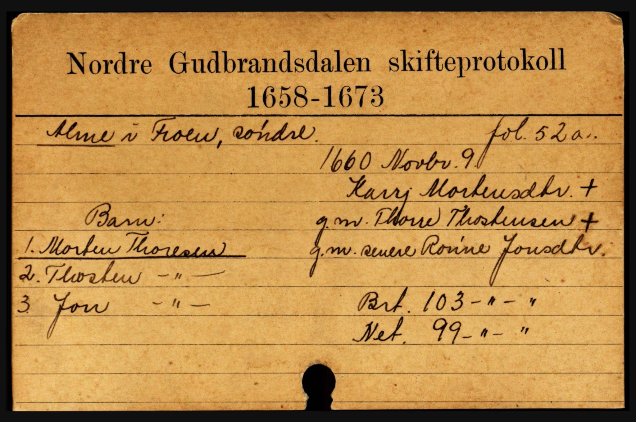 SAH, Sør-Gudbrandsdal tingrett, J, 1658-1885, s. 3