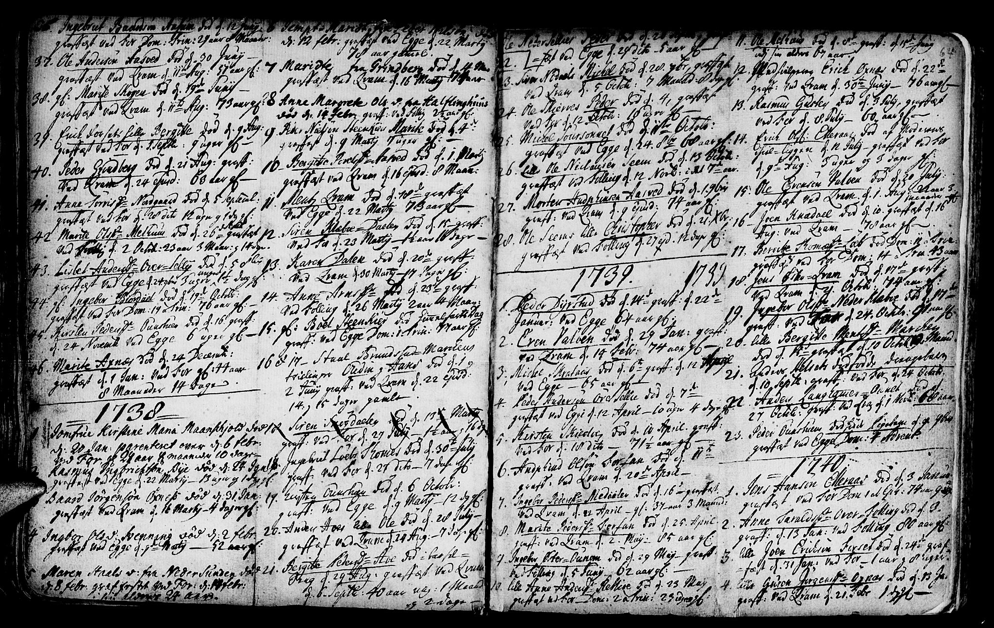 SAT, Ministerialprotokoller, klokkerbøker og fødselsregistre - Nord-Trøndelag, 746/L0439: Ministerialbok nr. 746A01, 1688-1759, s. 64