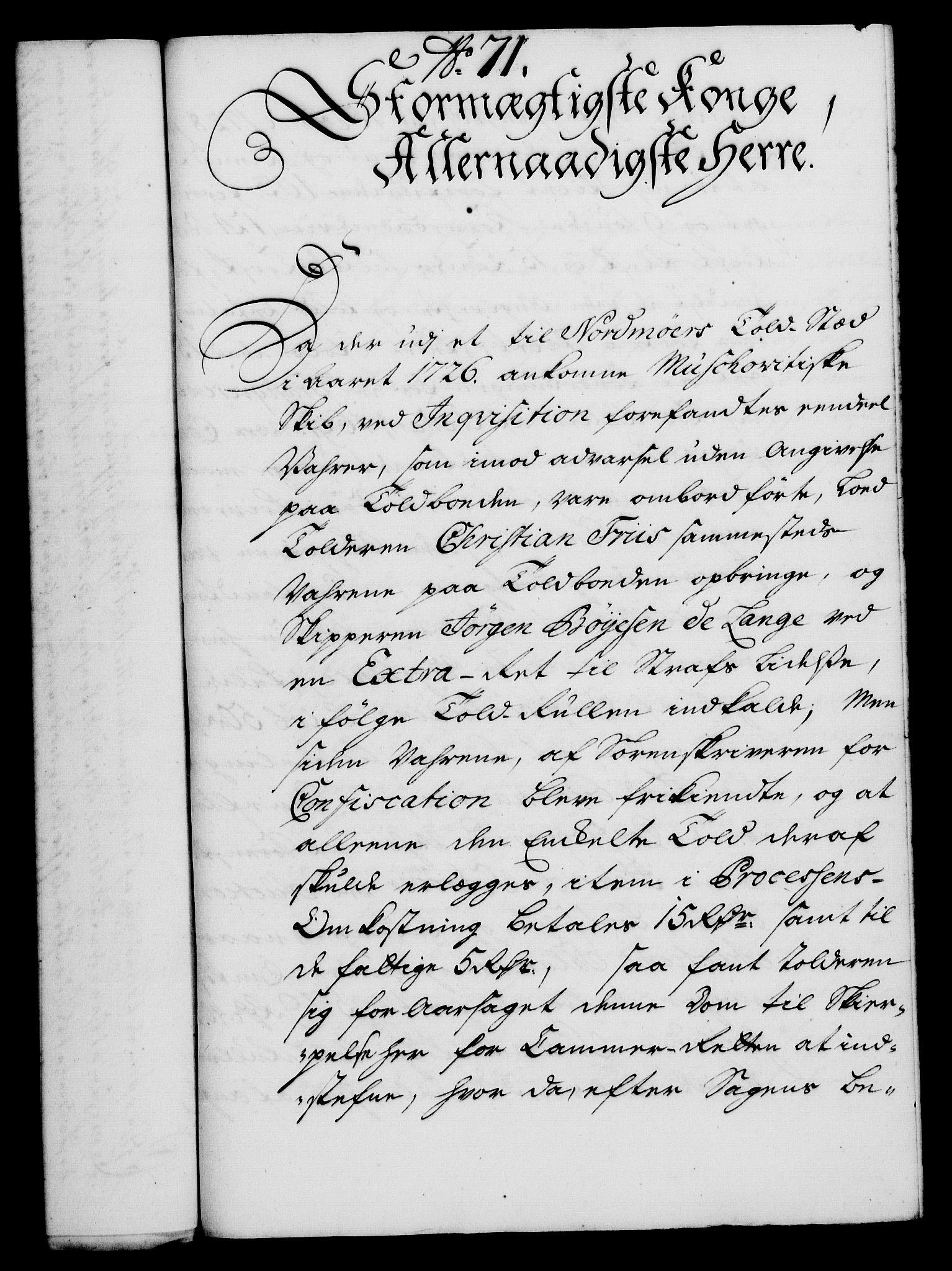 RA, Rentekammeret, Kammerkanselliet, G/Gf/Gfa/L0019: Norsk relasjons- og resolusjonsprotokoll (merket RK 52.19), 1736, s. 478