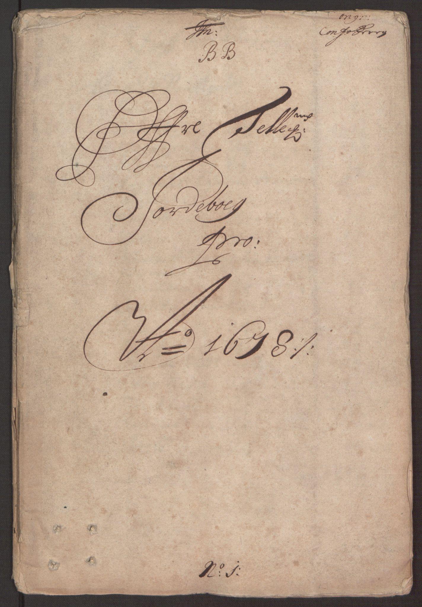 RA, Rentekammeret inntil 1814, Reviderte regnskaper, Fogderegnskap, R35/L2070: Fogderegnskap Øvre og Nedre Telemark, 1678, s. 3