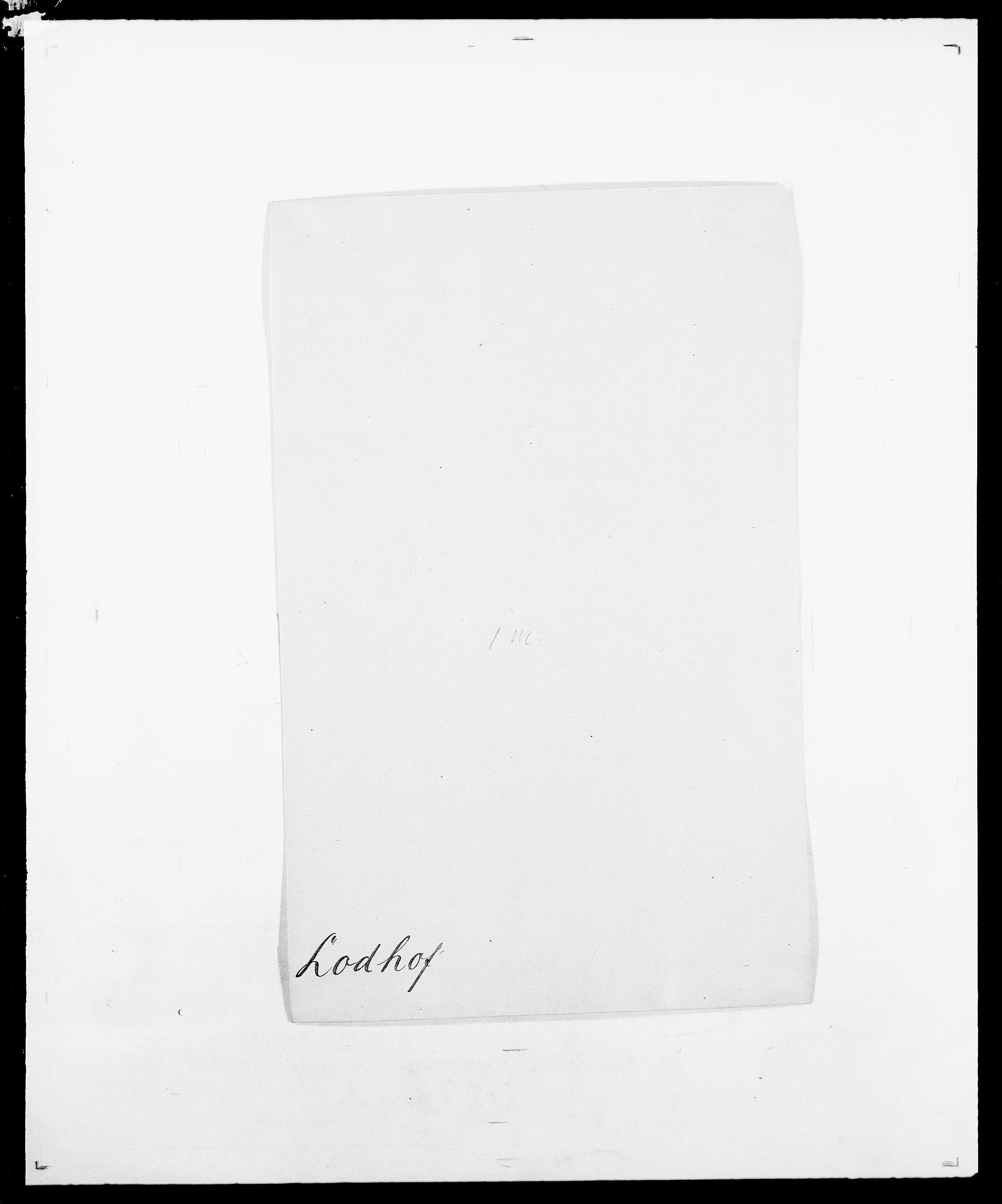 SAO, Delgobe, Charles Antoine - samling, D/Da/L0024: Lobech - Lærum, s. 35