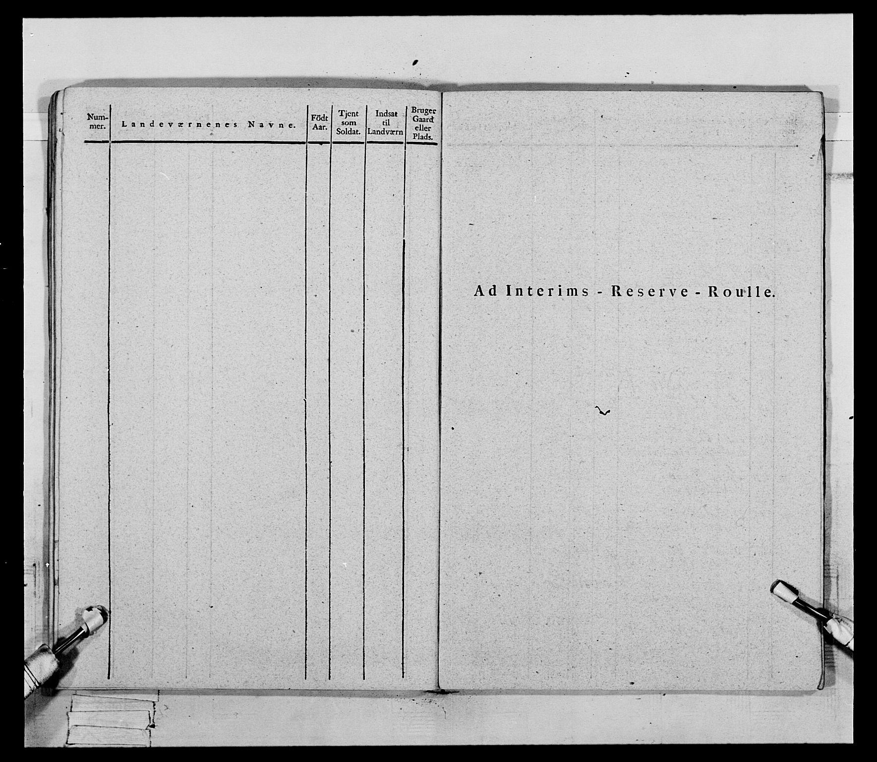 RA, Generalitets- og kommissariatskollegiet, Det kongelige norske kommissariatskollegium, E/Eh/L0069: Opplandske gevorbne infanteriregiment, 1810-1818, s. 652