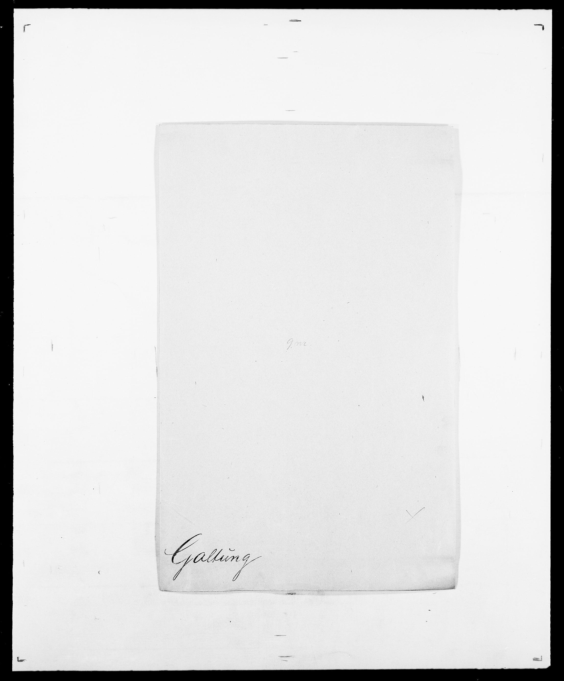 SAO, Delgobe, Charles Antoine - samling, D/Da/L0013: Forbos - Geving, s. 429