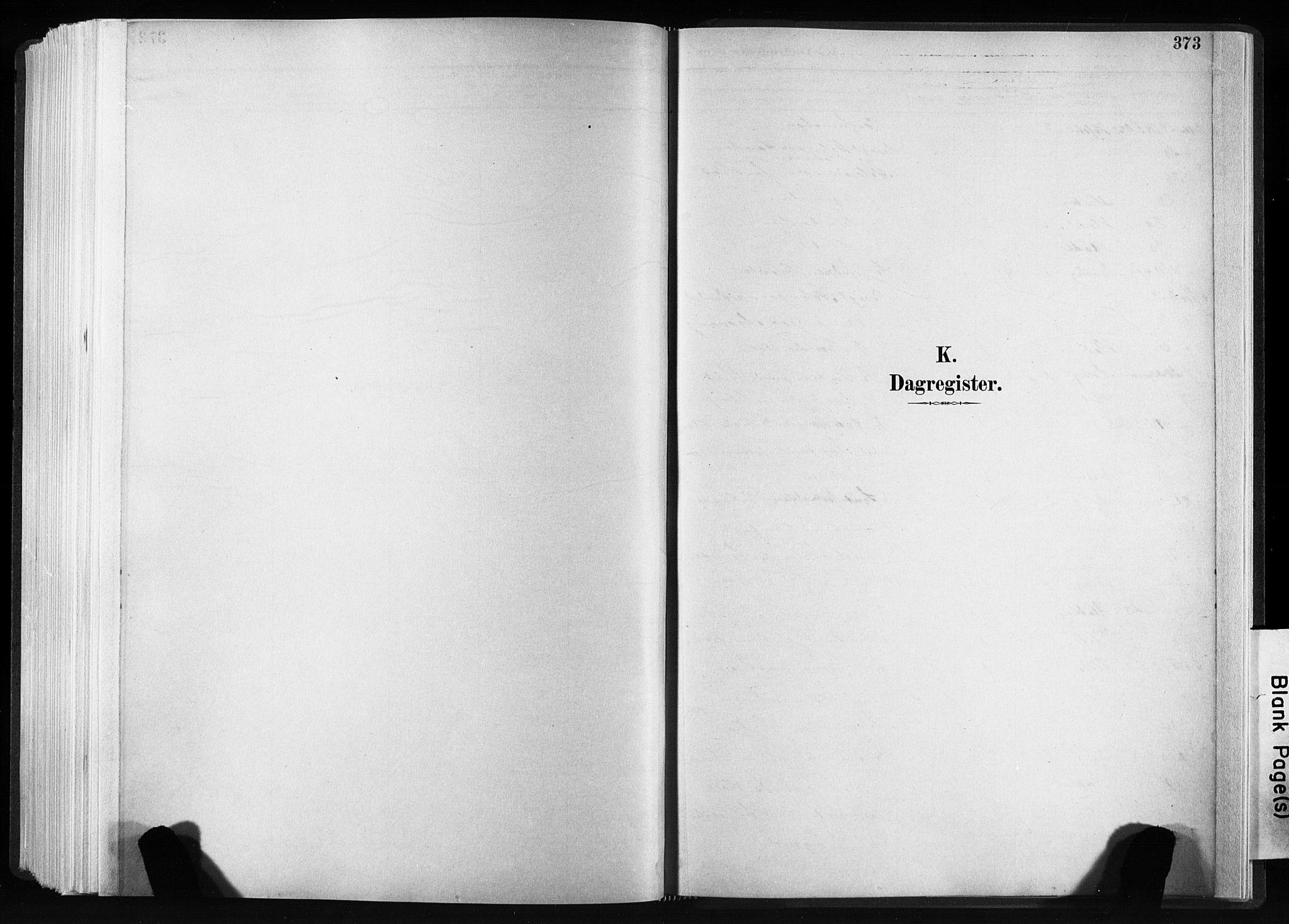 SAT, Ministerialprotokoller, klokkerbøker og fødselsregistre - Sør-Trøndelag, 606/L0300: Ministerialbok nr. 606A15, 1886-1893, s. 373