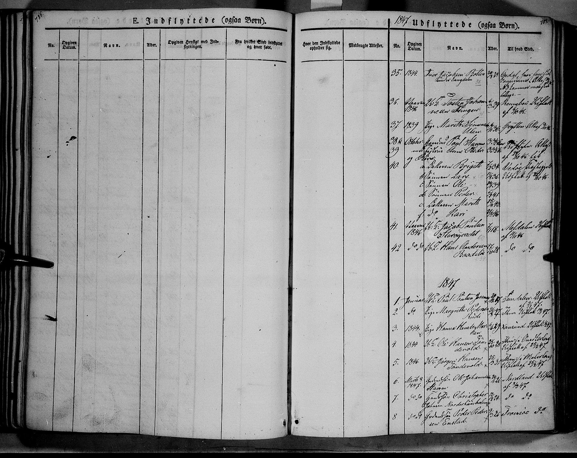 SAH, Lesja prestekontor, Ministerialbok nr. 6B, 1843-1854, s. 786-787