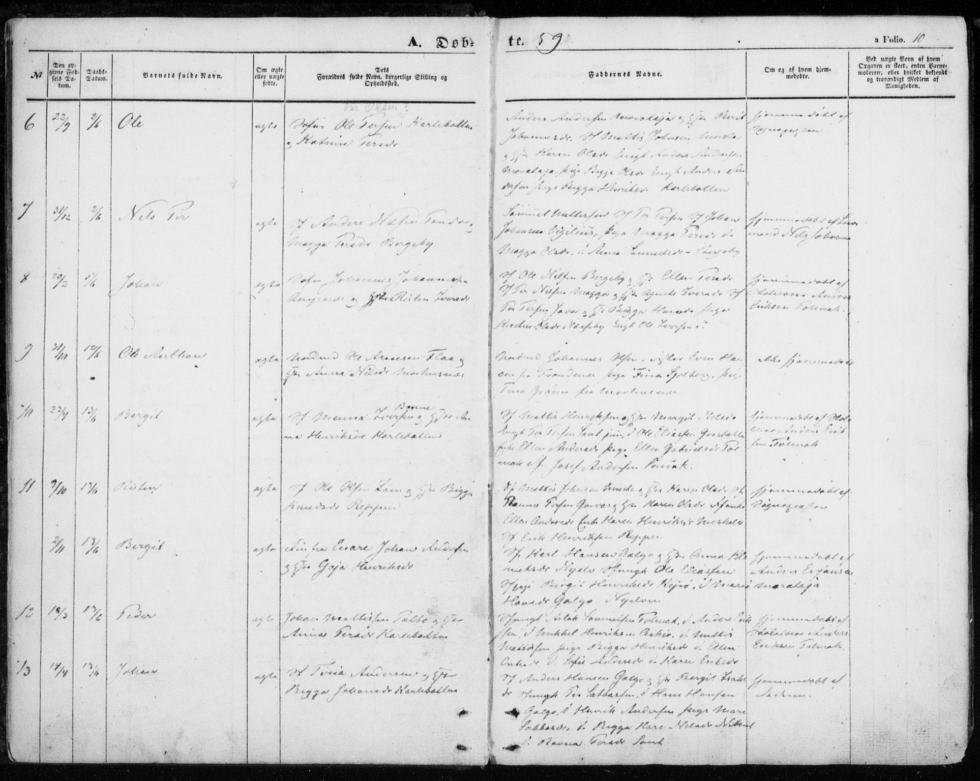 SATØ, Nesseby sokneprestkontor, H/Ha/L0002kirke: Ministerialbok nr. 2, 1856-1864, s. 10