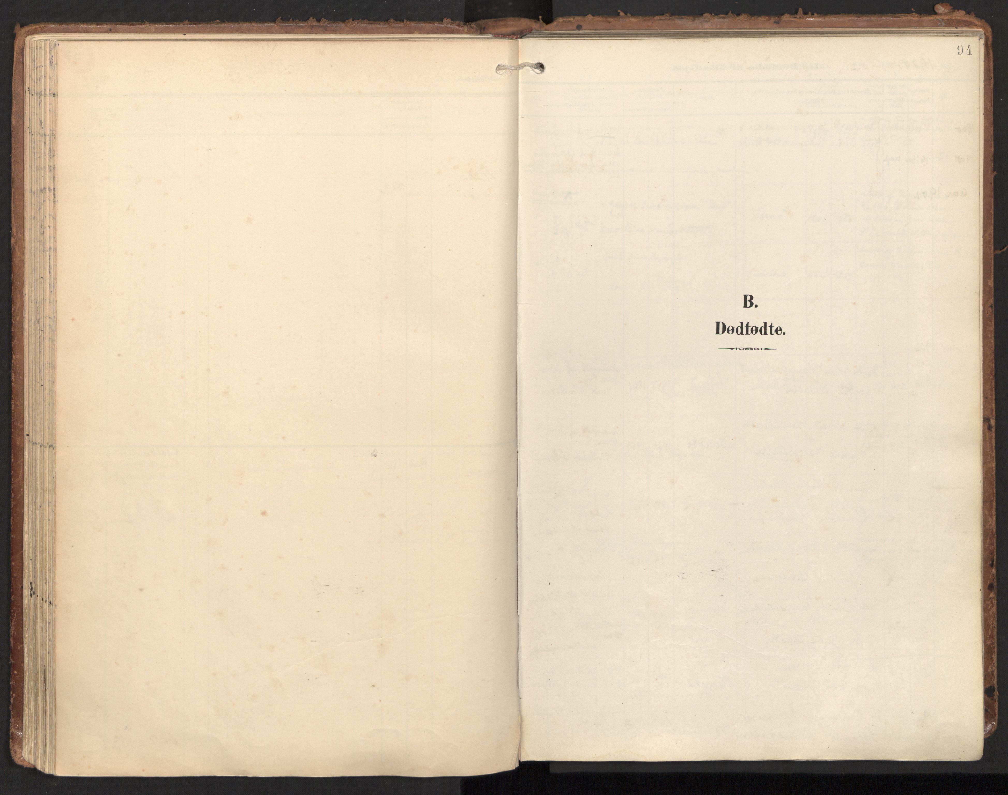 SAT, Ministerialprotokoller, klokkerbøker og fødselsregistre - Nord-Trøndelag, 784/L0677: Ministerialbok nr. 784A12, 1900-1920, s. 94