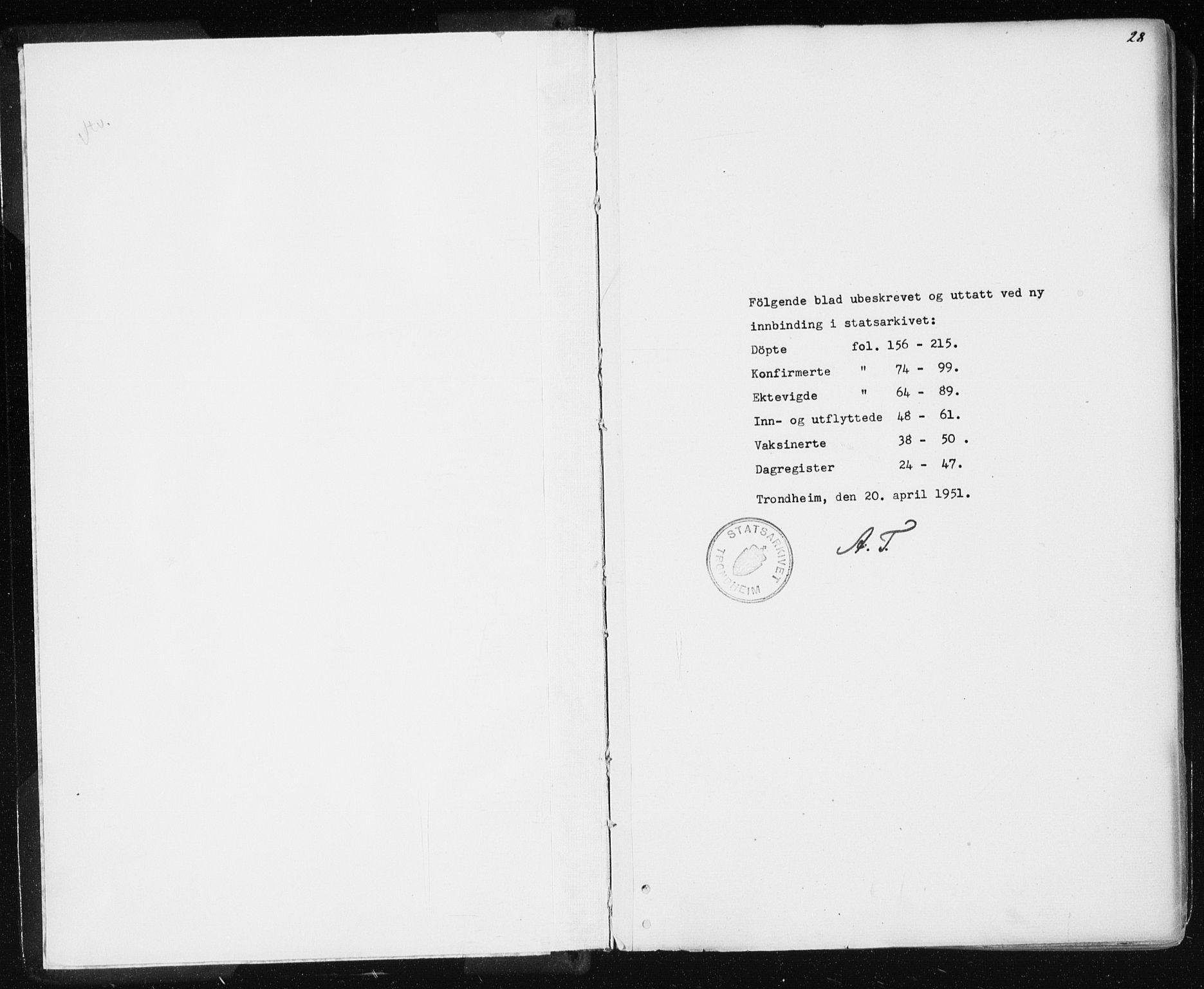 SAT, Ministerialprotokoller, klokkerbøker og fødselsregistre - Sør-Trøndelag, 601/L0053: Ministerialbok nr. 601A21, 1857-1865, s. 28