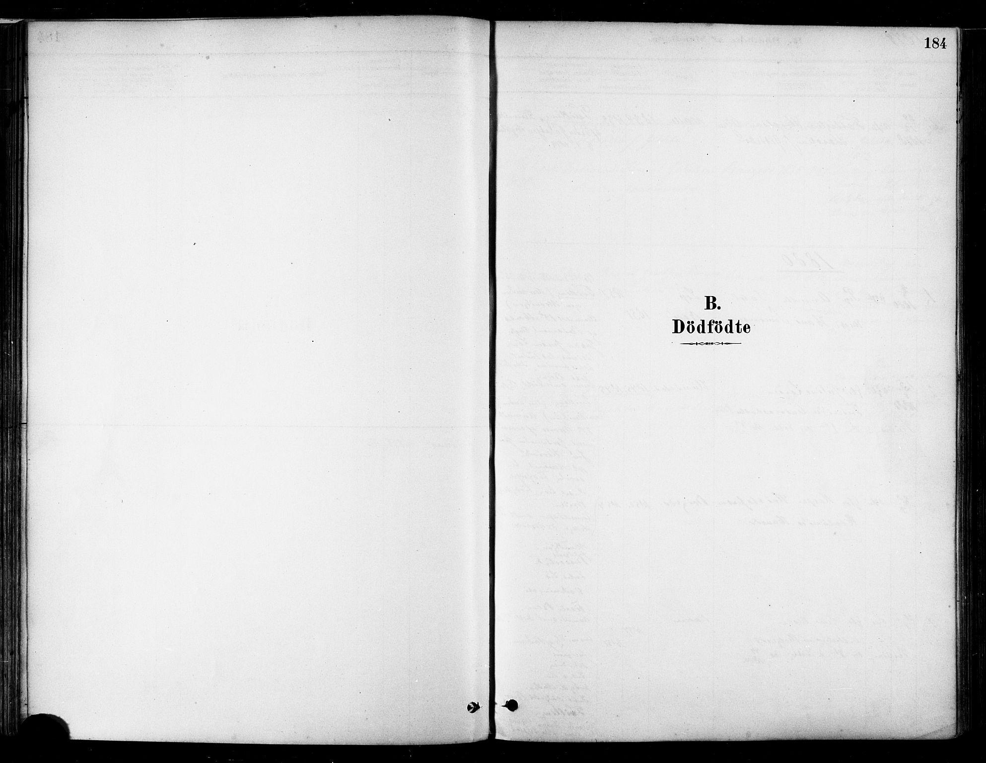 SAT, Ministerialprotokoller, klokkerbøker og fødselsregistre - Nordland, 802/L0054: Ministerialbok nr. 802A01, 1879-1893, s. 184
