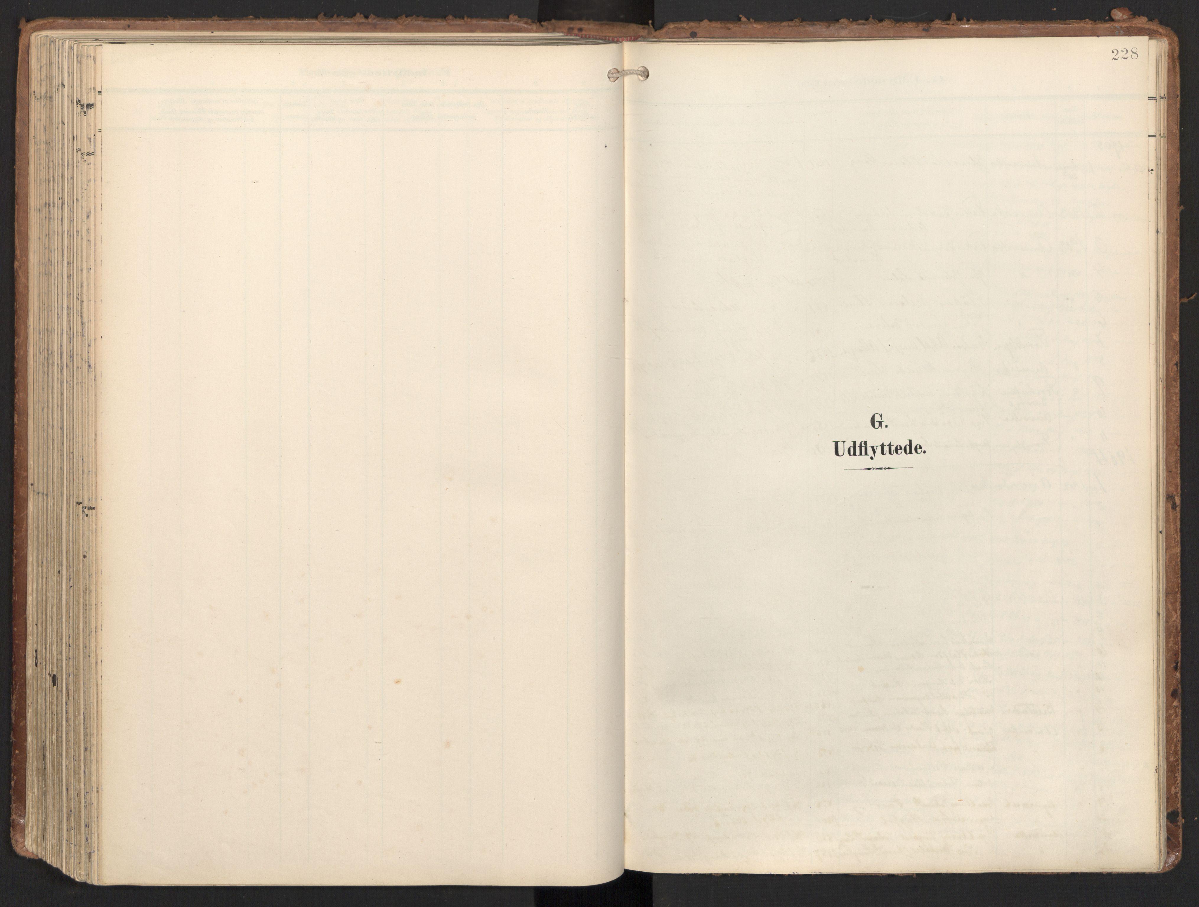 SAT, Ministerialprotokoller, klokkerbøker og fødselsregistre - Nord-Trøndelag, 784/L0677: Ministerialbok nr. 784A12, 1900-1920, s. 228