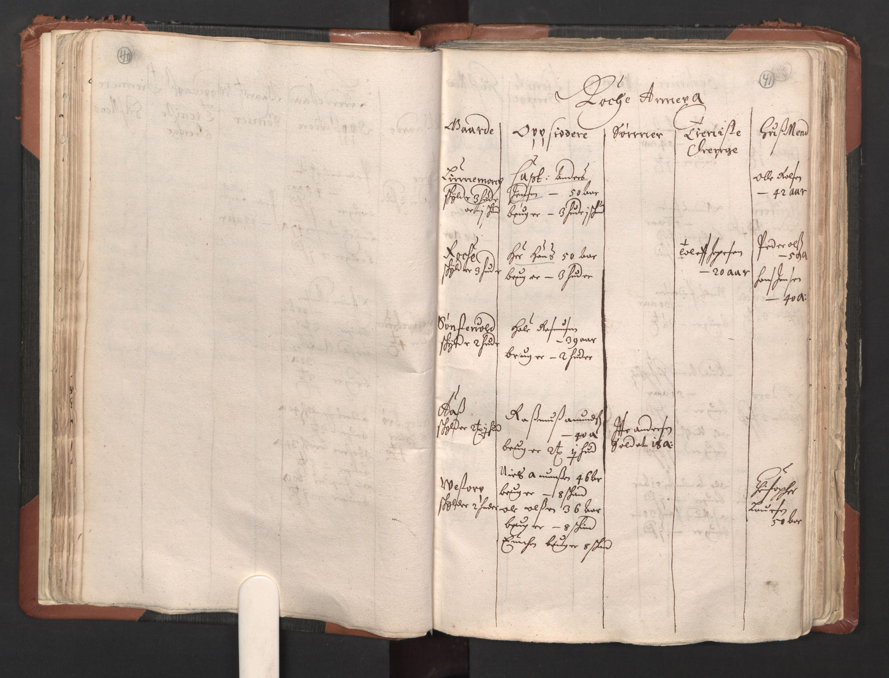 RA, Fogdenes og sorenskrivernes manntall 1664-1666, nr. 1: Fogderier (len og skipreider) i nåværende Østfold fylke, 1664, s. 40-41