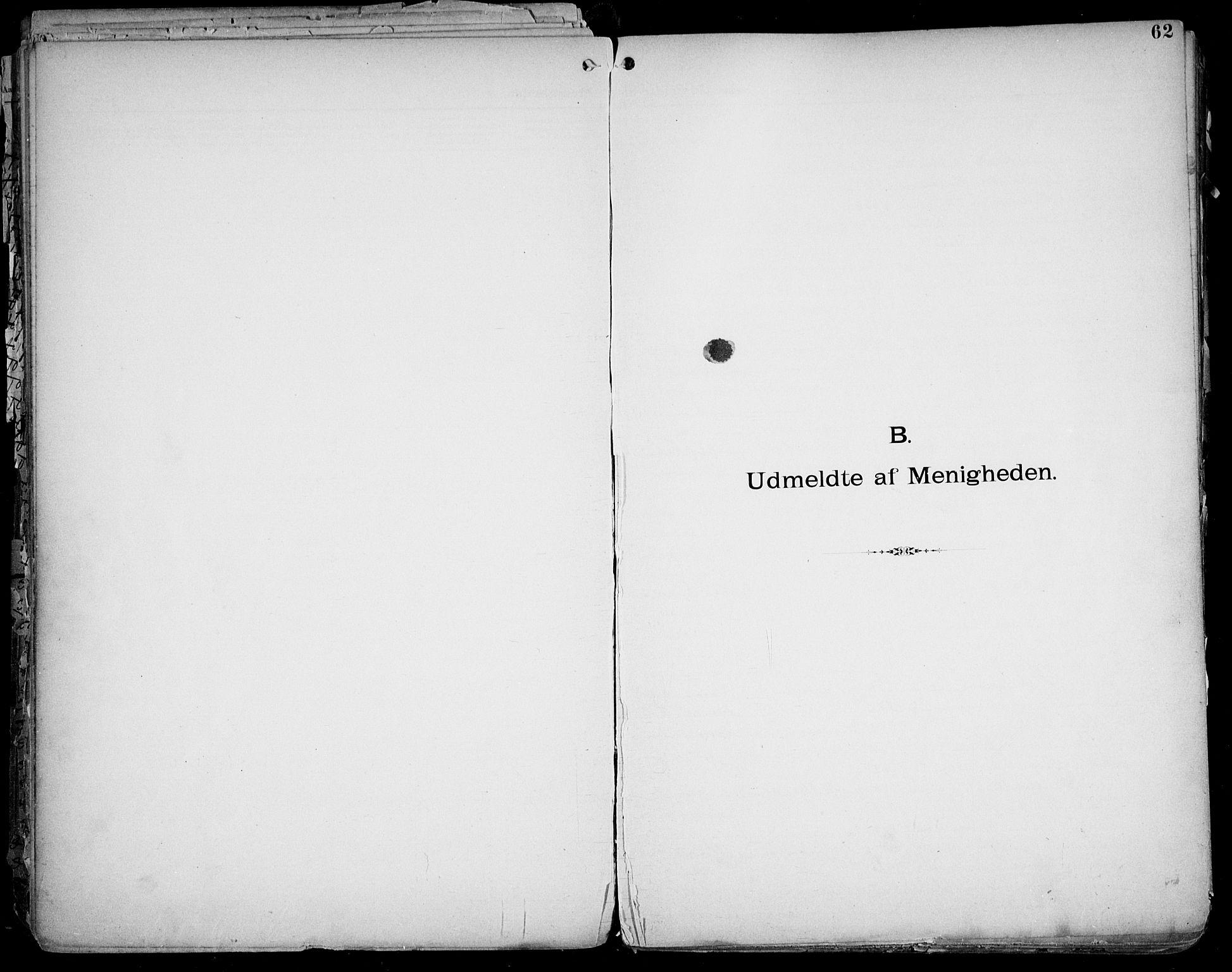SAO, Første Metodistkirke Oslo -  menighetsprotokoller, F/L0004: Dissenterprotokoll nr. 4, 1892-1927, s. 62