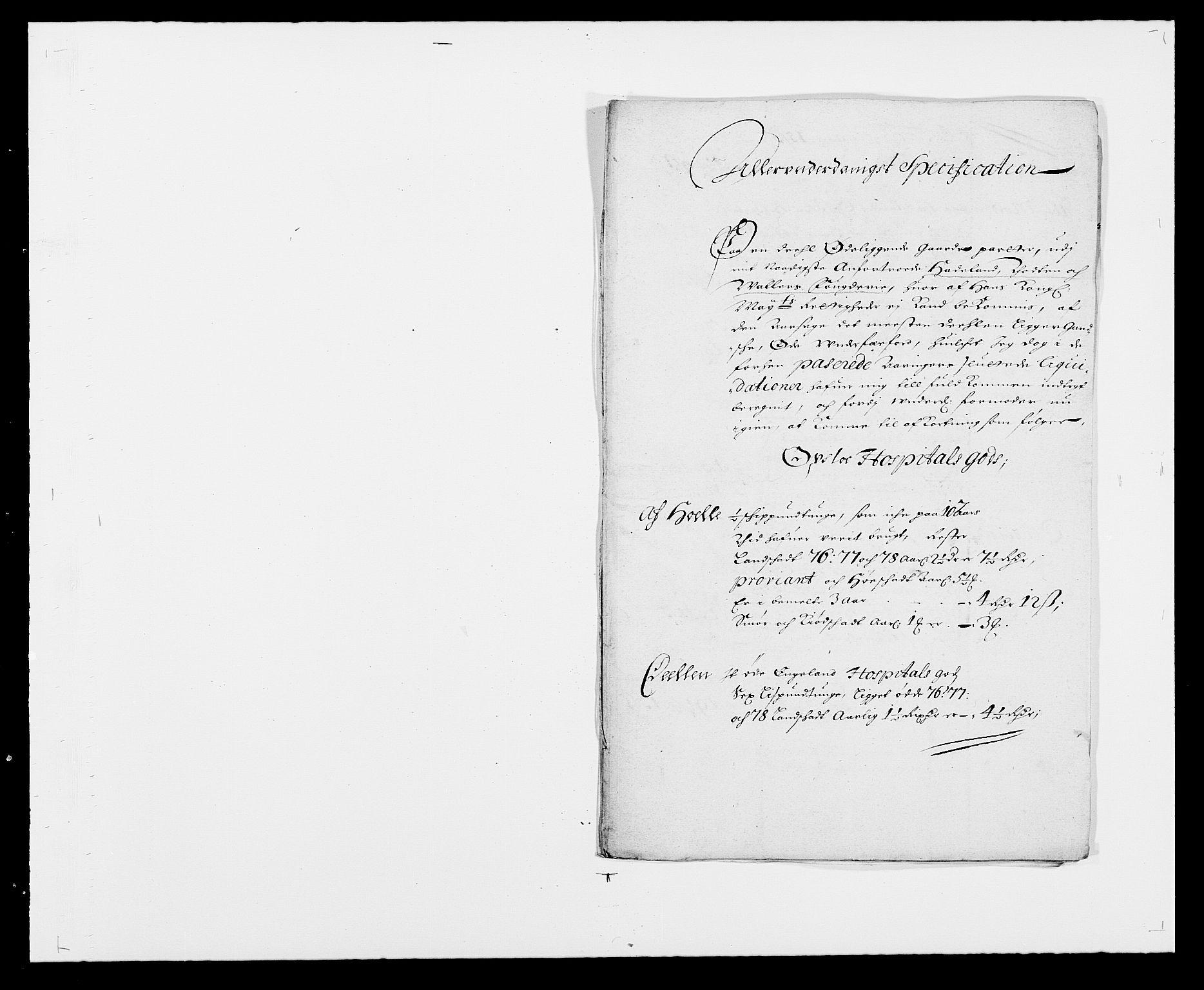 RA, Rentekammeret inntil 1814, Reviderte regnskaper, Fogderegnskap, R18/L1271: Fogderegnskap Hadeland, Toten og Valdres, 1678, s. 277