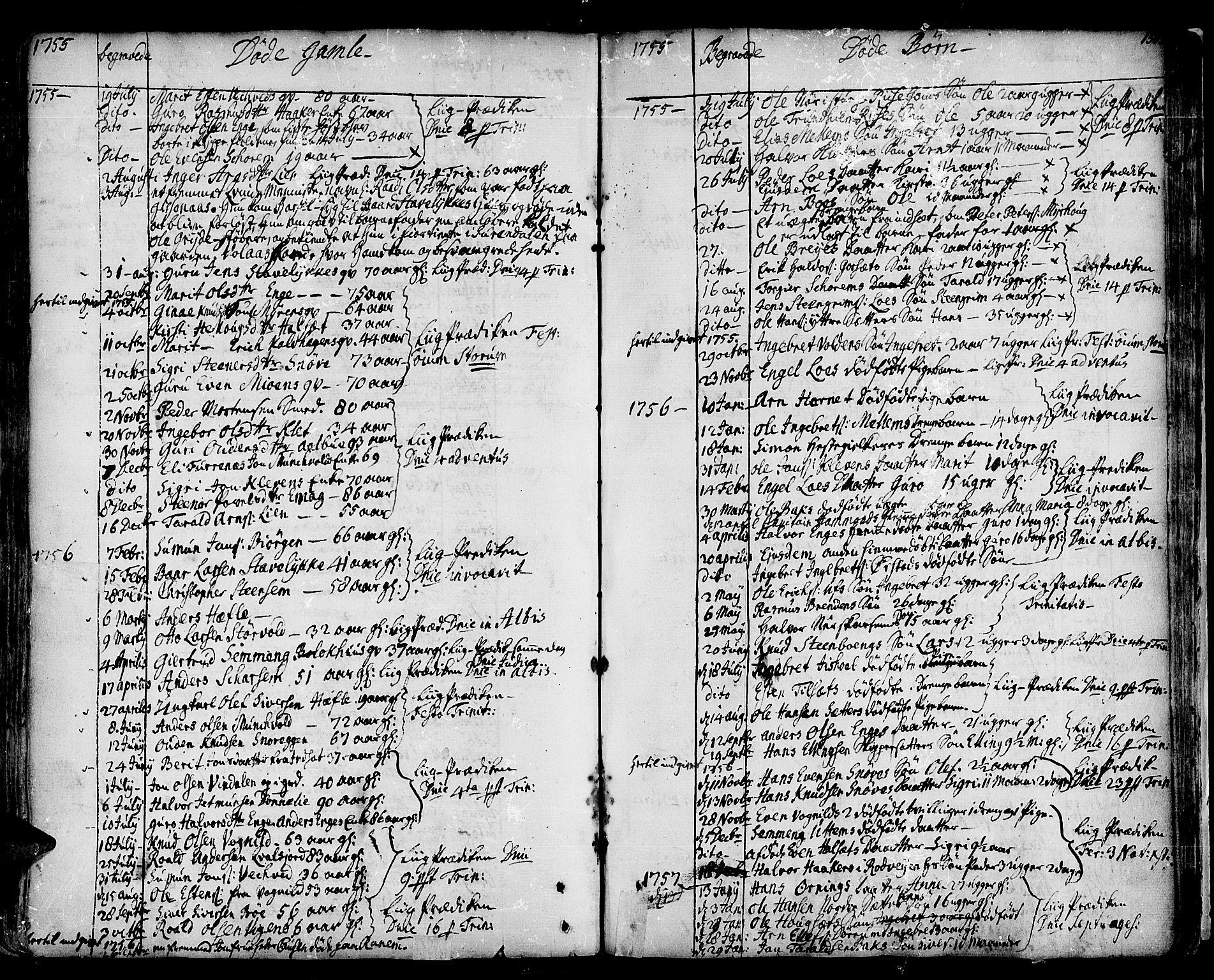 SAT, Ministerialprotokoller, klokkerbøker og fødselsregistre - Sør-Trøndelag, 678/L0891: Ministerialbok nr. 678A01, 1739-1780, s. 150