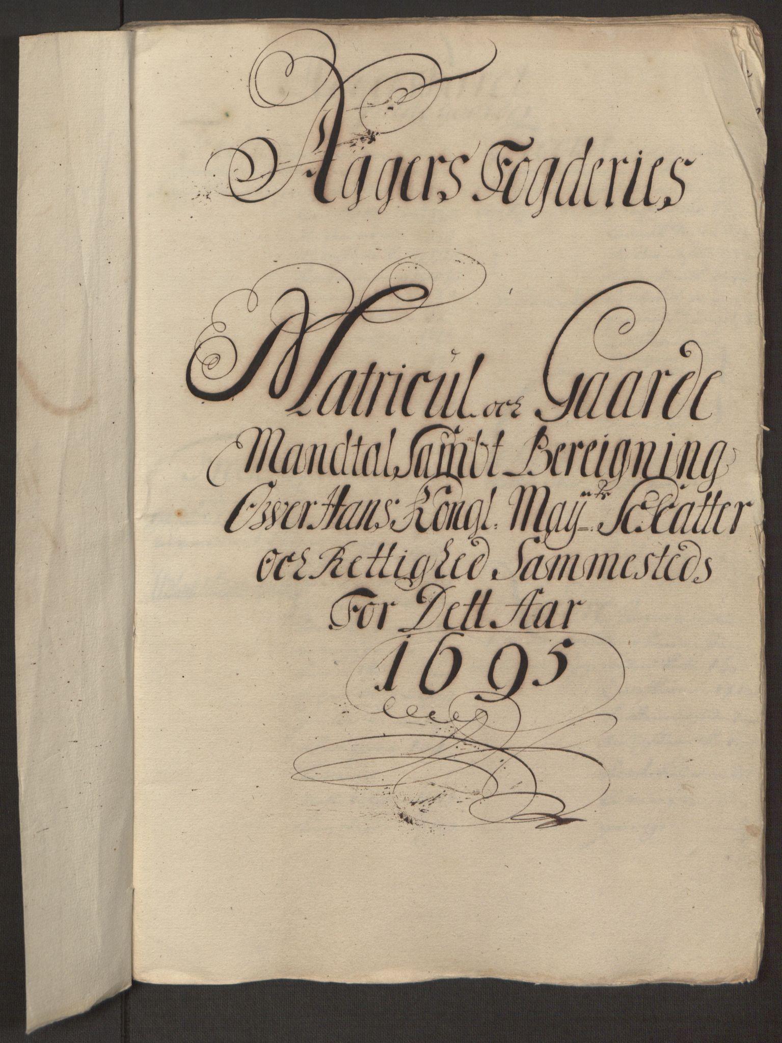 RA, Rentekammeret inntil 1814, Reviderte regnskaper, Fogderegnskap, R10/L0439: Fogderegnskap Aker og Follo, 1695, s. 30