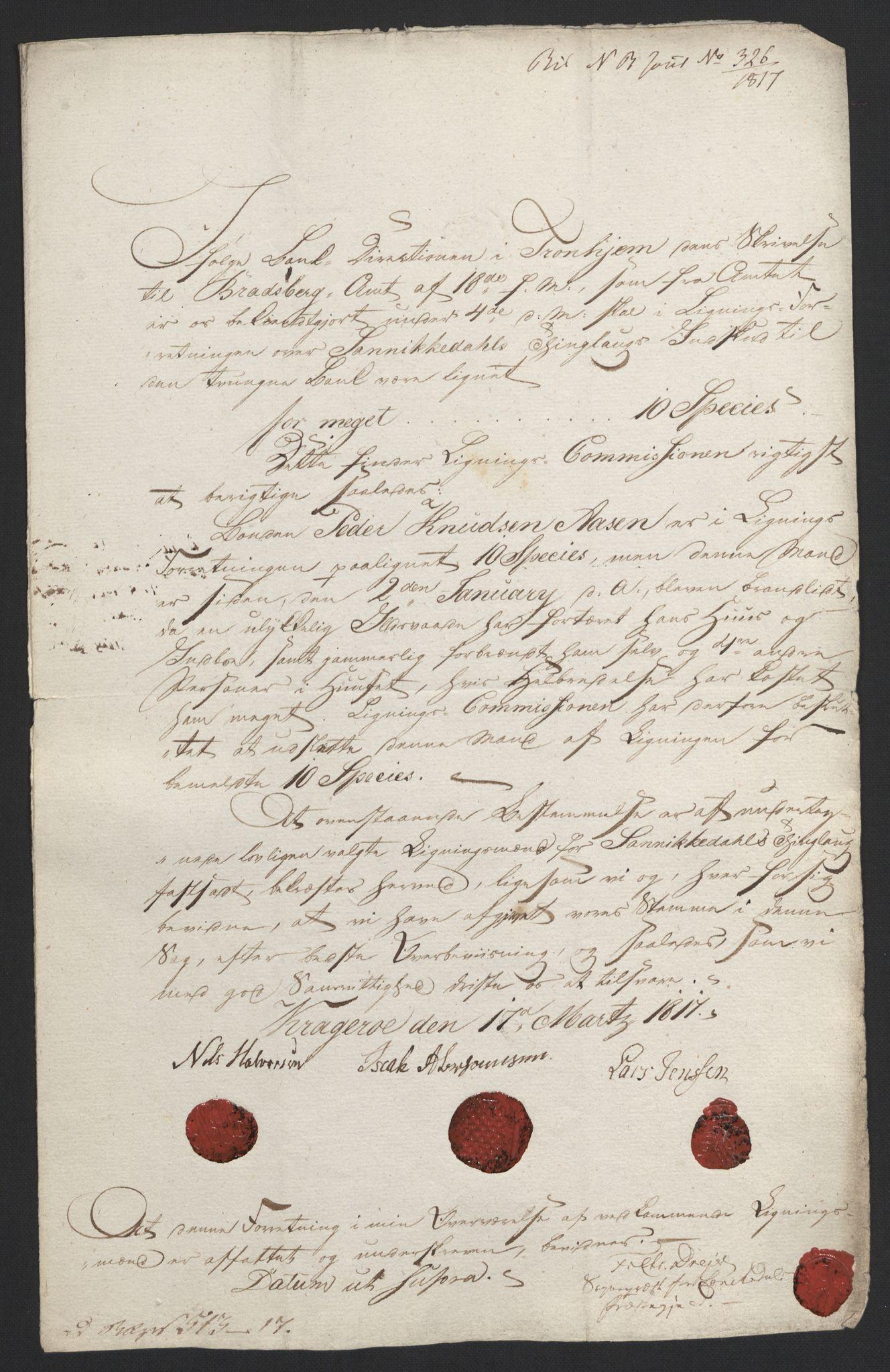 NOBA, Norges Bank/Sølvskatten 1816*, 1816-1824, s. 156