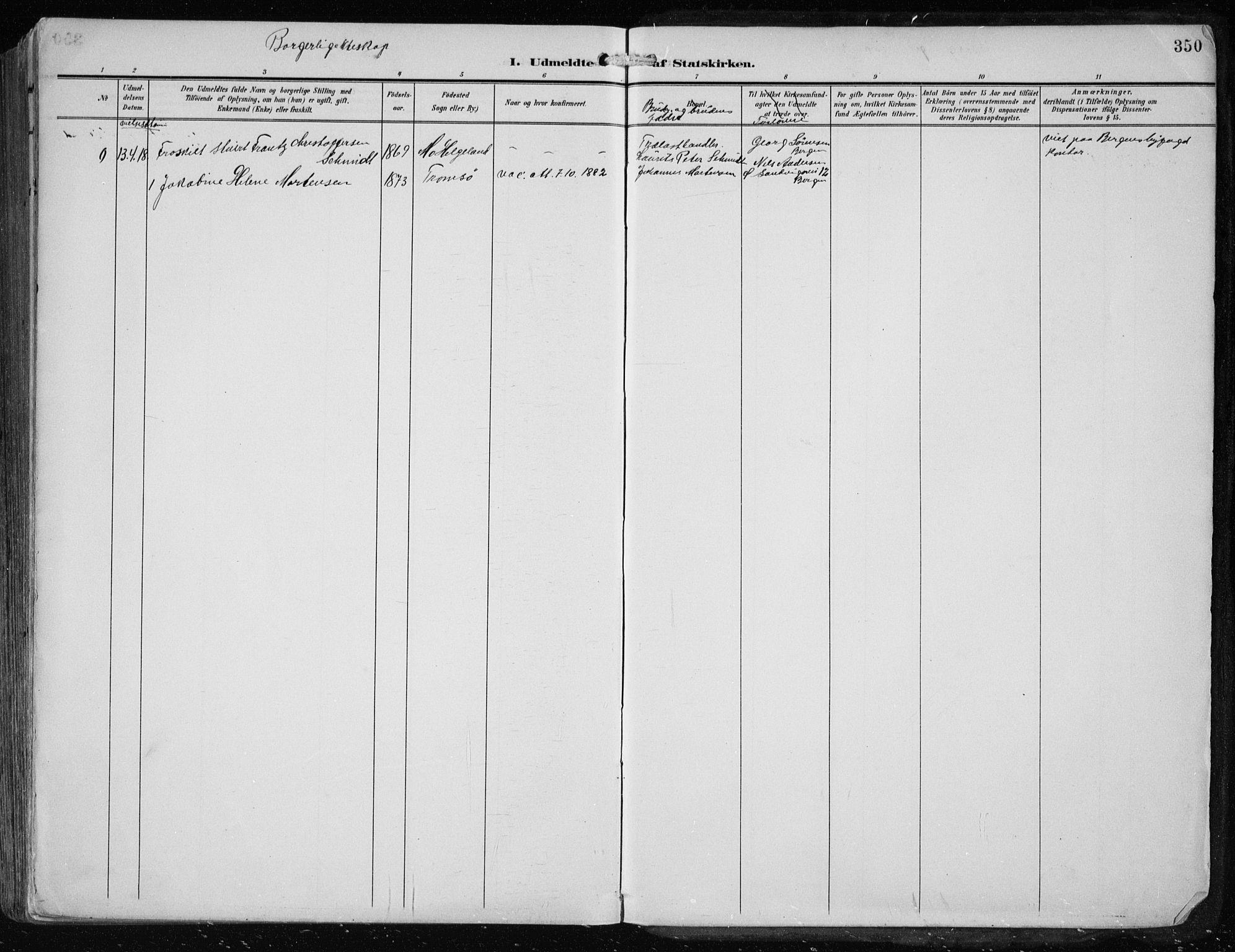SAST, Haugesund sokneprestkontor, H/Ha/Haa/L0010: Ministerialbok nr. A 10, 1909-1935, s. 350