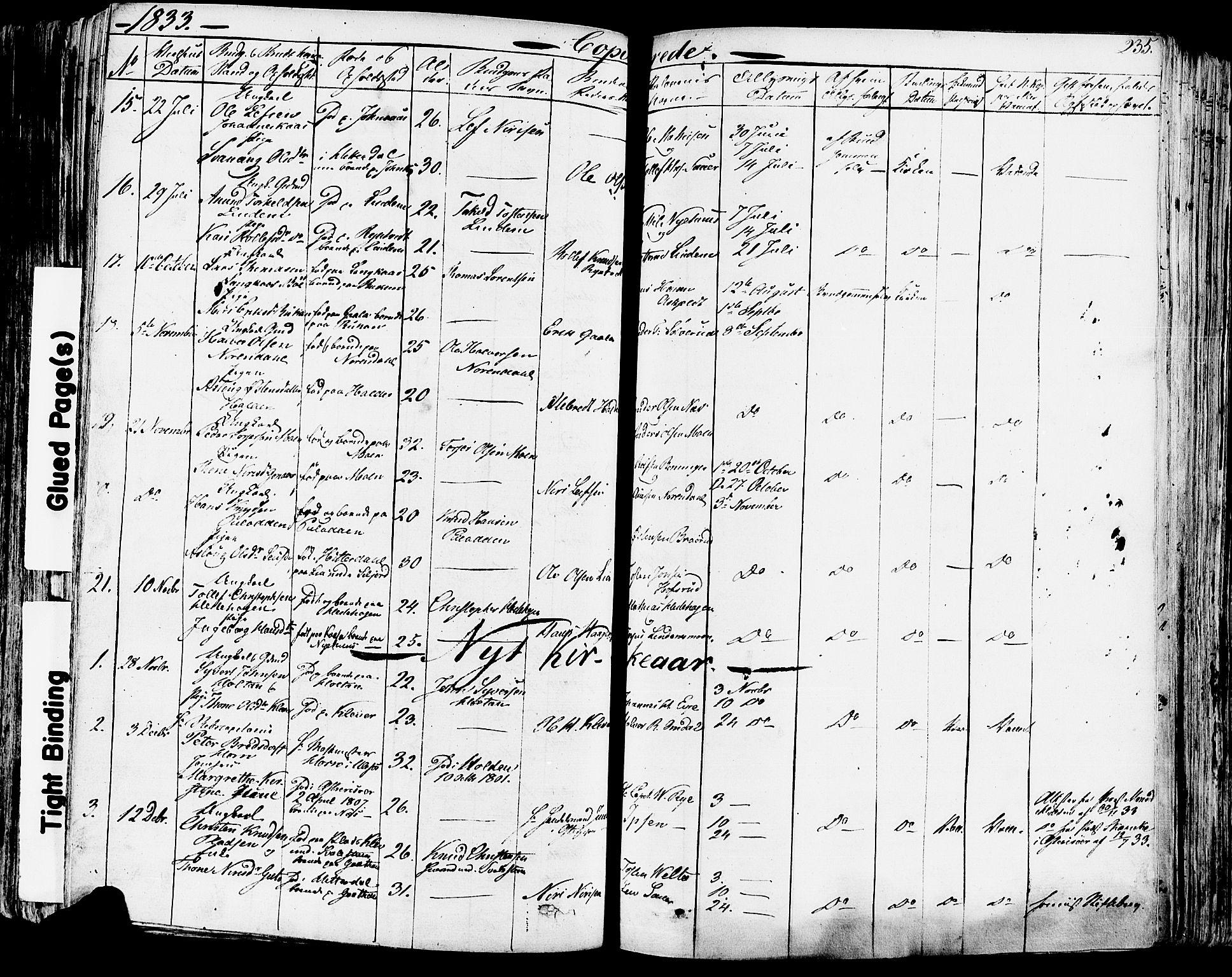 SAKO, Sauherad kirkebøker, F/Fa/L0006: Ministerialbok nr. I 6, 1827-1850, s. 235