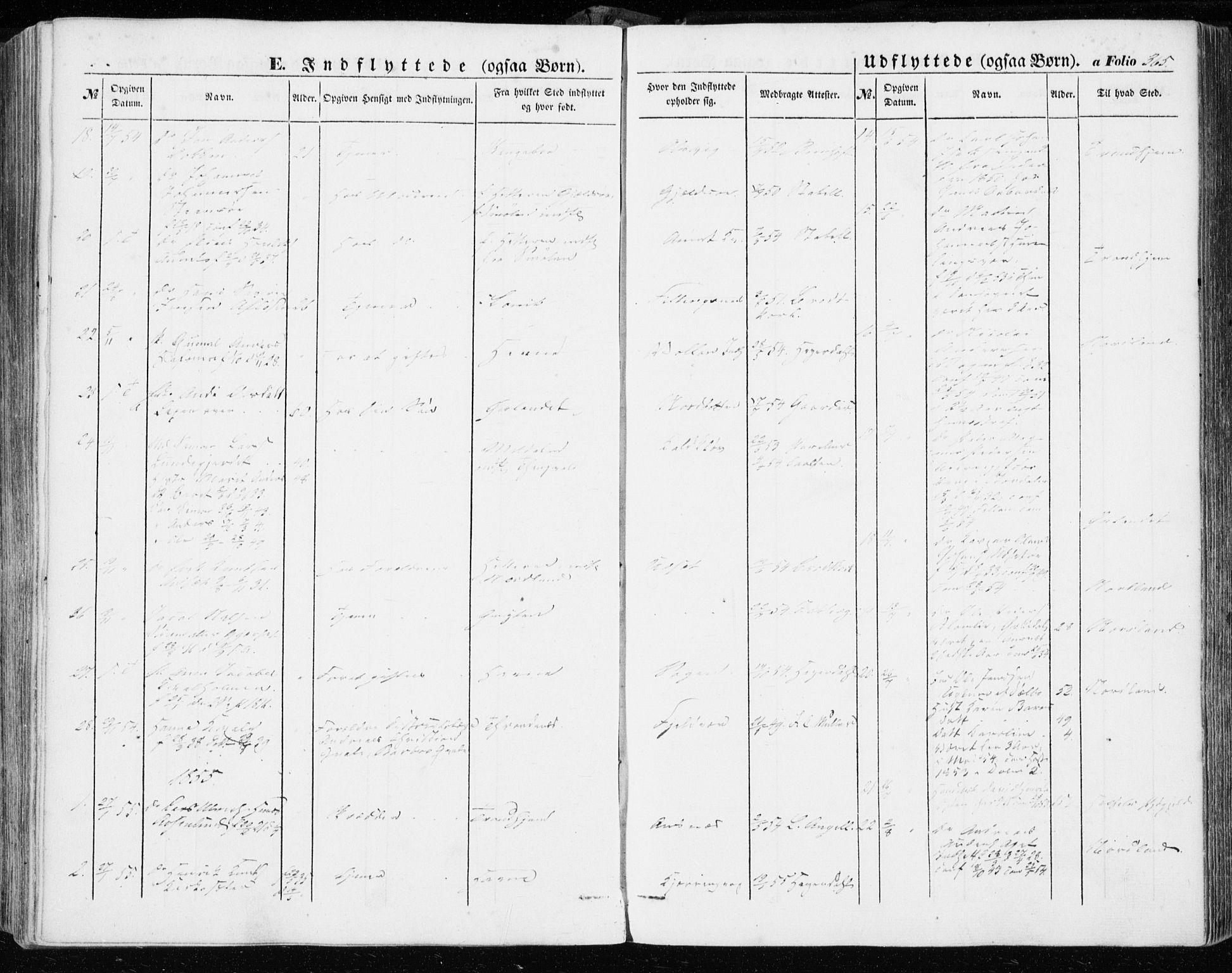 SAT, Ministerialprotokoller, klokkerbøker og fødselsregistre - Sør-Trøndelag, 634/L0530: Ministerialbok nr. 634A06, 1852-1860, s. 365