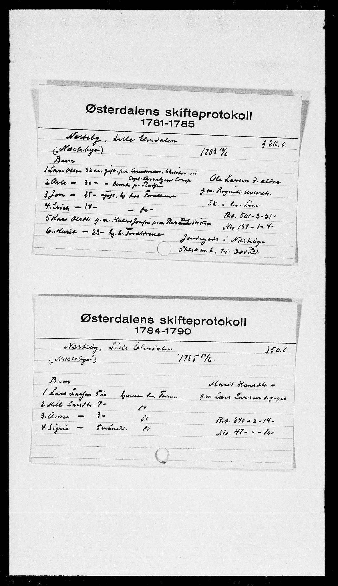 SAH, Østerdalen sorenskriveri, J, 1772-1823, s. 6807
