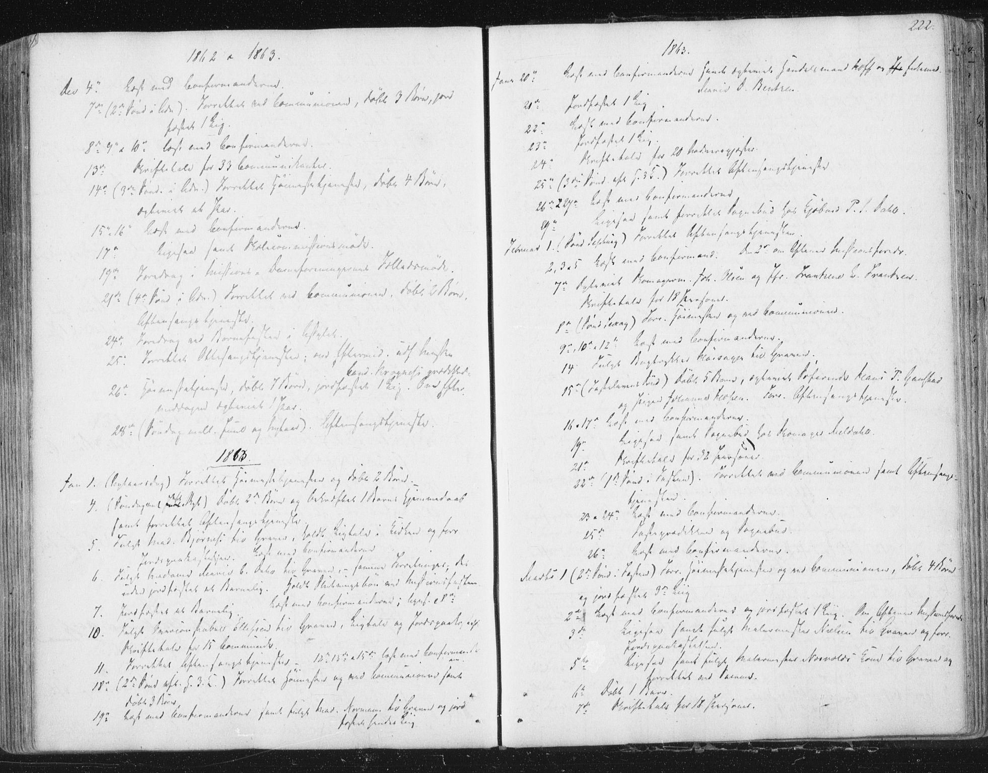 SAT, Ministerialprotokoller, klokkerbøker og fødselsregistre - Sør-Trøndelag, 602/L0127: Residerende kapellans bok nr. 602B01, 1821-1875, s. 222