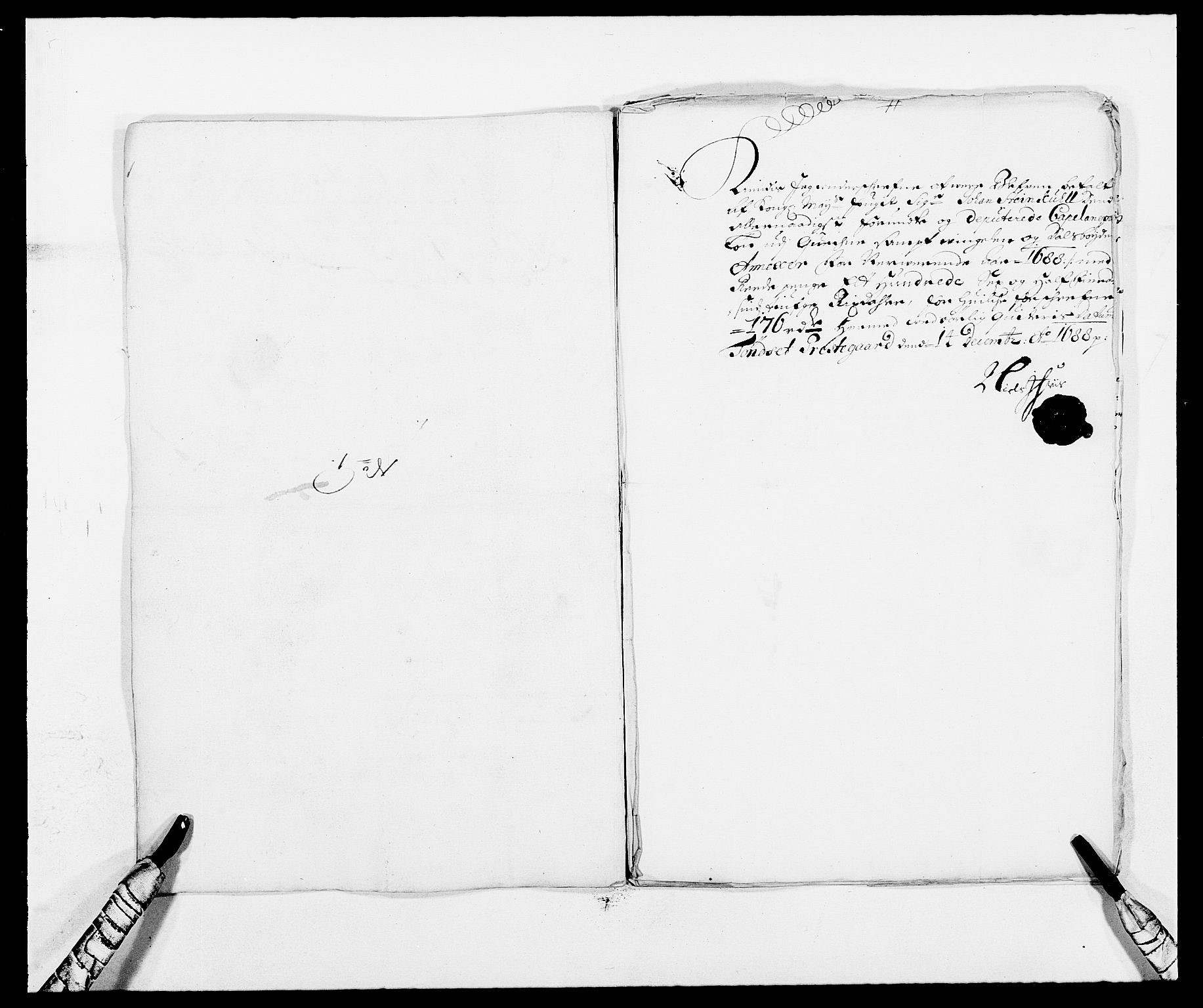 RA, Rentekammeret inntil 1814, Reviderte regnskaper, Fogderegnskap, R13/L0825: Fogderegnskap Solør, Odal og Østerdal, 1688, s. 267
