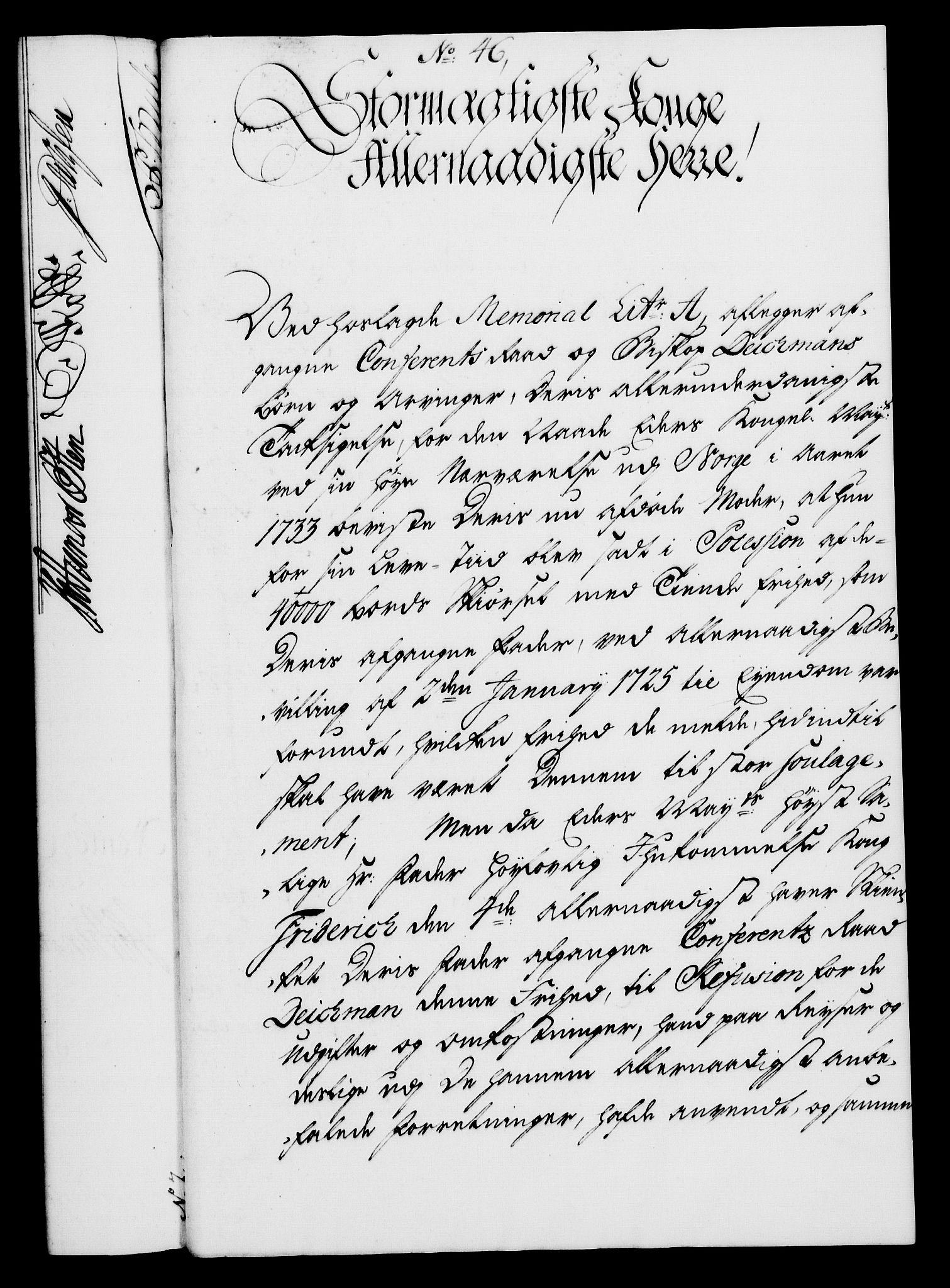 RA, Rentekammeret, Kammerkanselliet, G/Gf/Gfa/L0028: Norsk relasjons- og resolusjonsprotokoll (merket RK 52.28), 1745-1746, s. 300