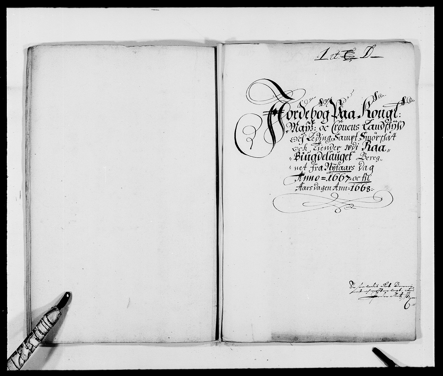RA, Rentekammeret inntil 1814, Reviderte regnskaper, Fogderegnskap, R40/L2431: Fogderegnskap Råbyggelag, 1664-1668, s. 172