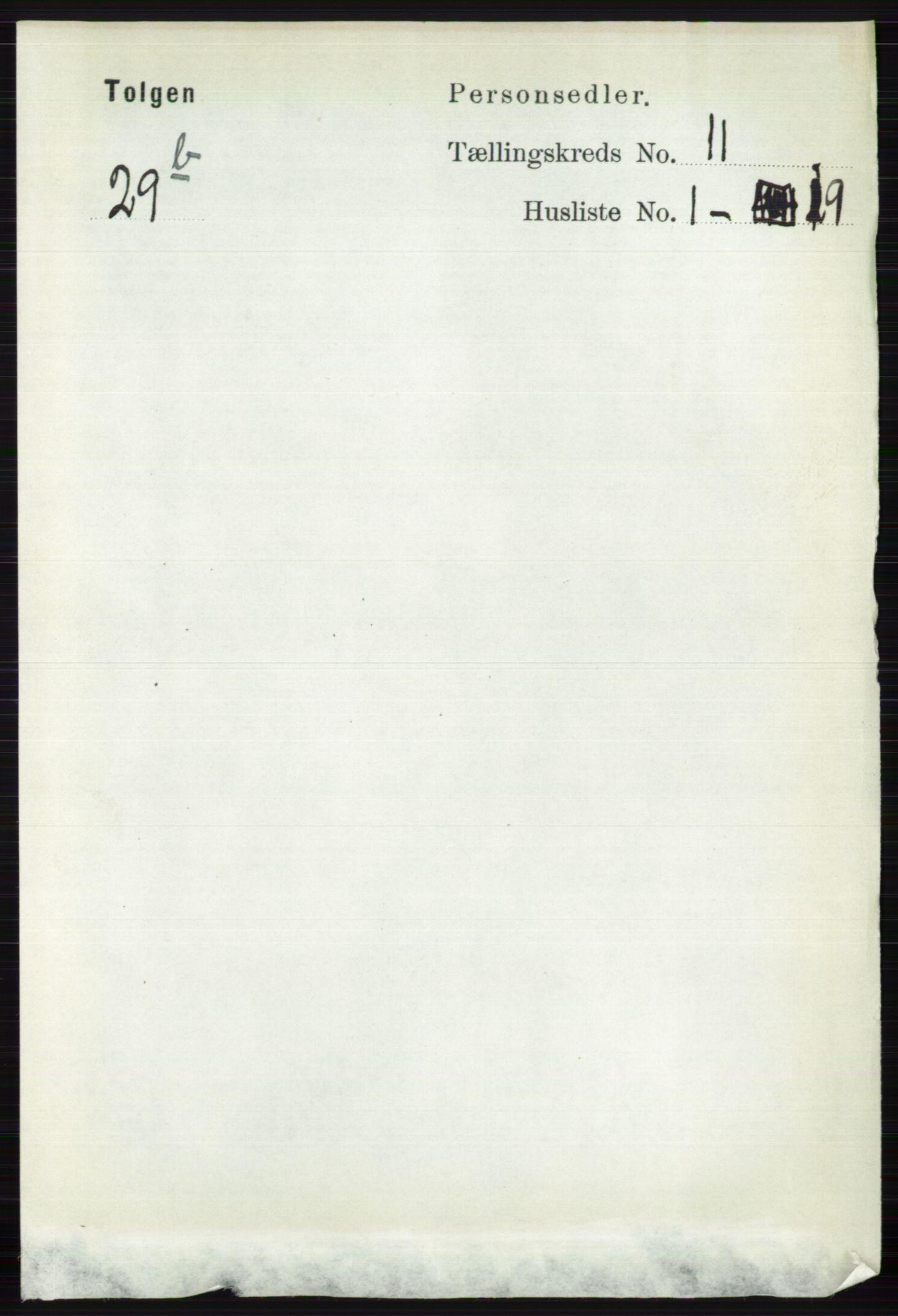 RA, Folketelling 1891 for 0436 Tolga herred, 1891, s. 3220