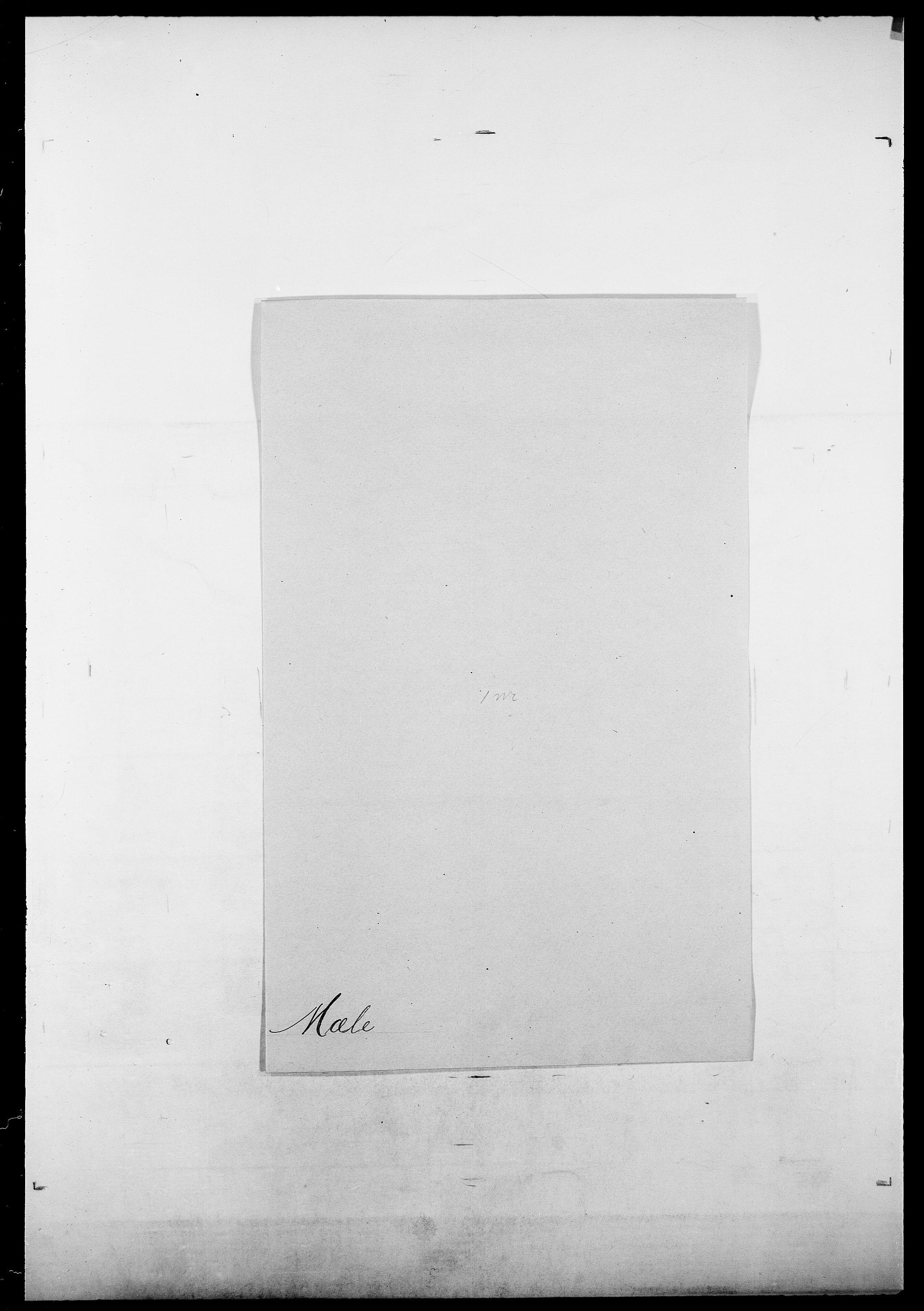 SAO, Delgobe, Charles Antoine - samling, D/Da/L0027: Morath - v. Møsting, s. 503