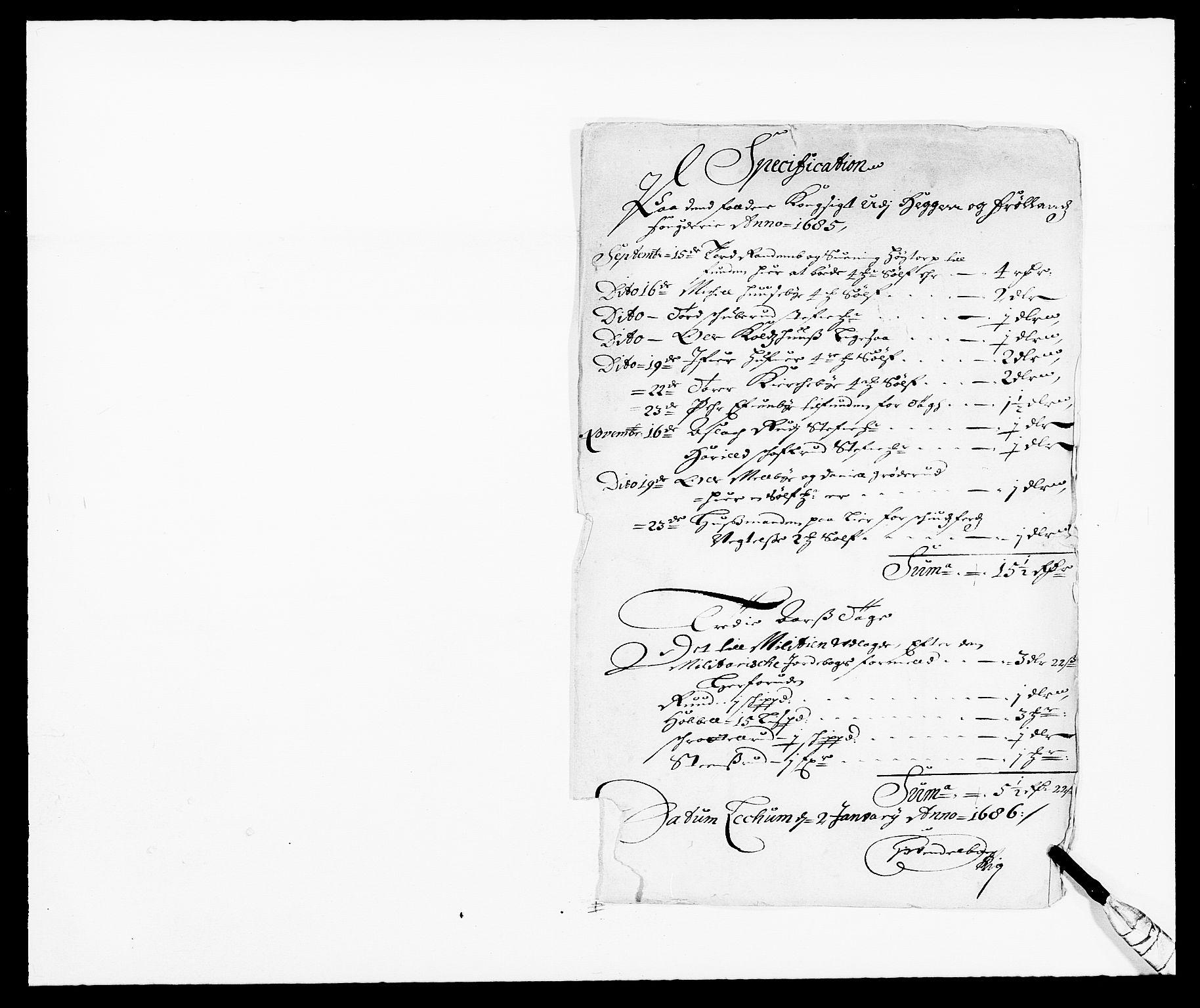 RA, Rentekammeret inntil 1814, Reviderte regnskaper, Fogderegnskap, R06/L0281: Fogderegnskap Heggen og Frøland, 1678-1686, s. 26