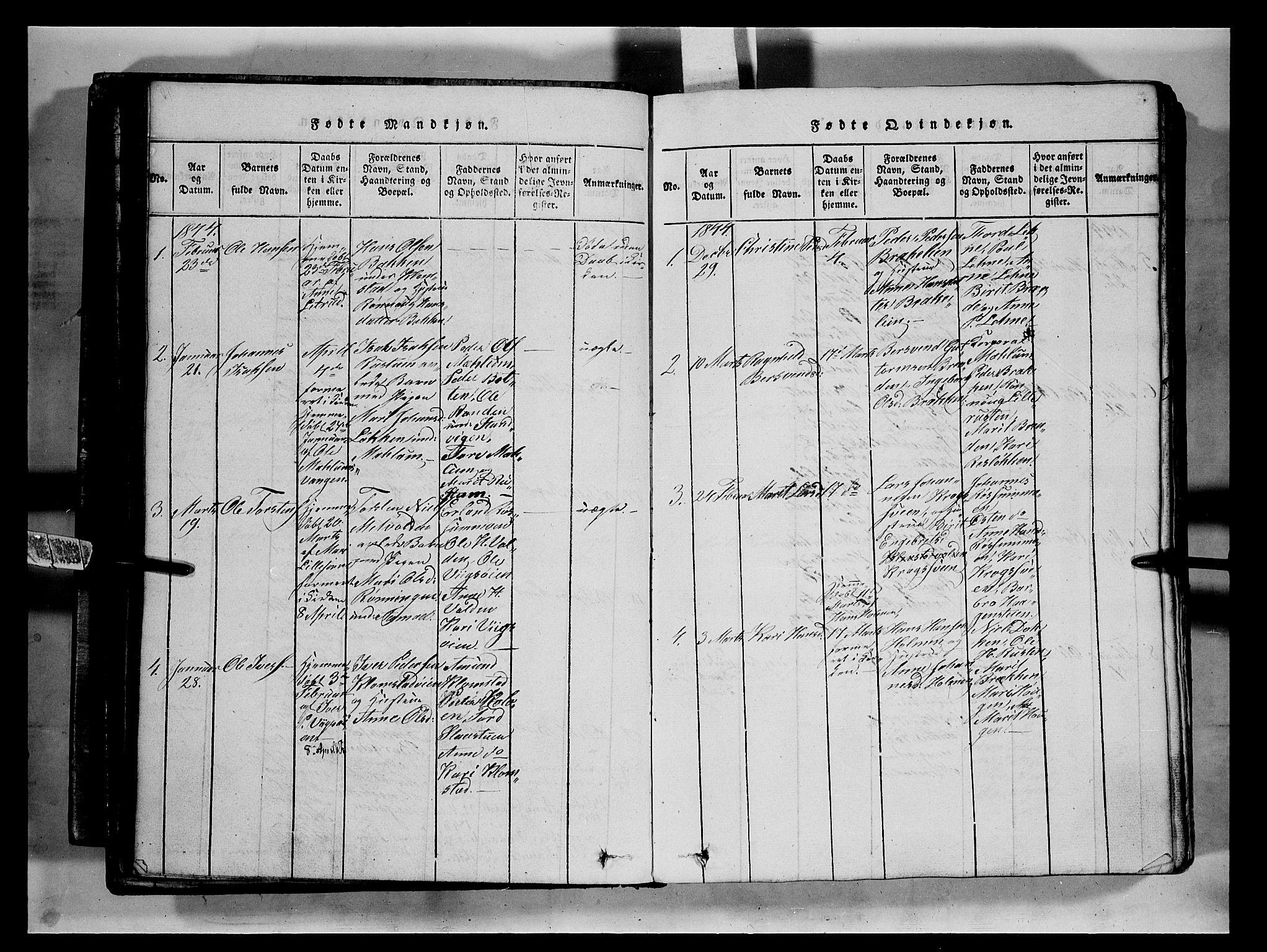 SAH, Fron prestekontor, H/Ha/Hab/L0002: Klokkerbok nr. 2, 1816-1850, s. 75b
