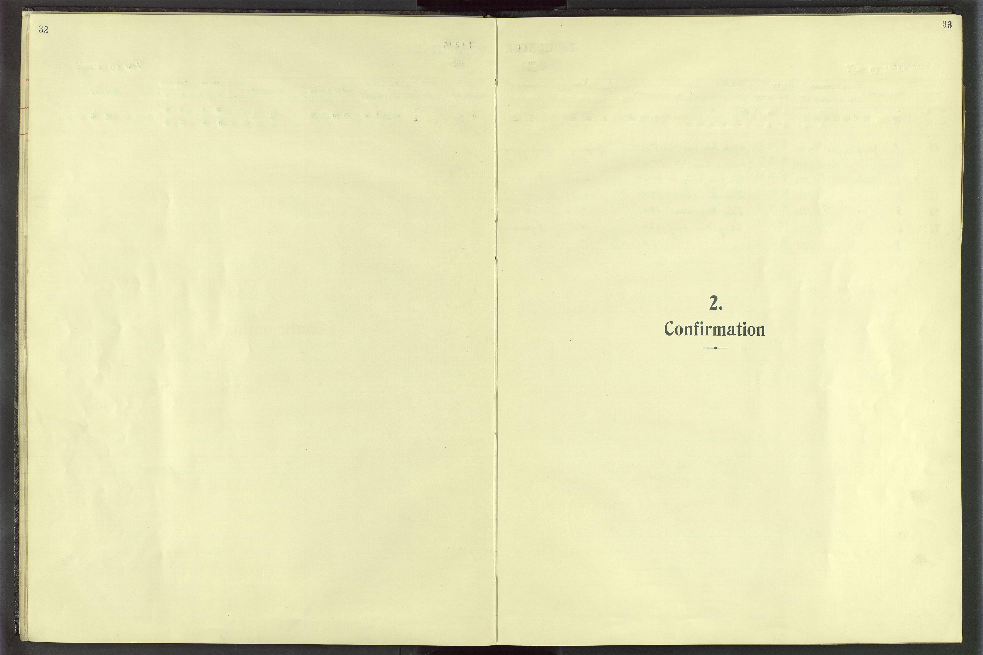 VID, Det Norske Misjonsselskap - utland - Kina (Hunan), Dm/L0020: Ministerialbok nr. 58, 1919-1948, s. 32-33