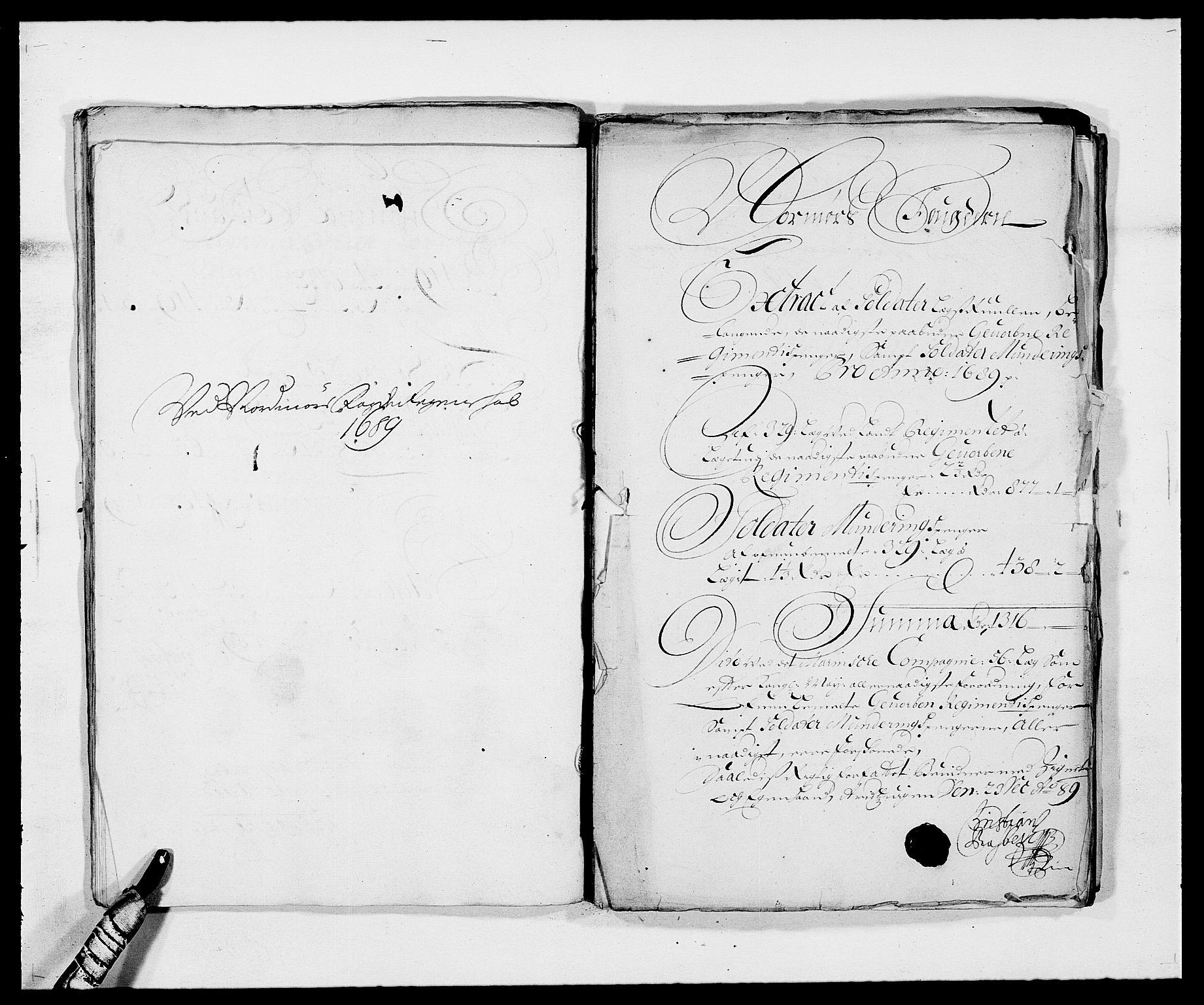 RA, Rentekammeret inntil 1814, Reviderte regnskaper, Fogderegnskap, R56/L3733: Fogderegnskap Nordmøre, 1687-1689, s. 378