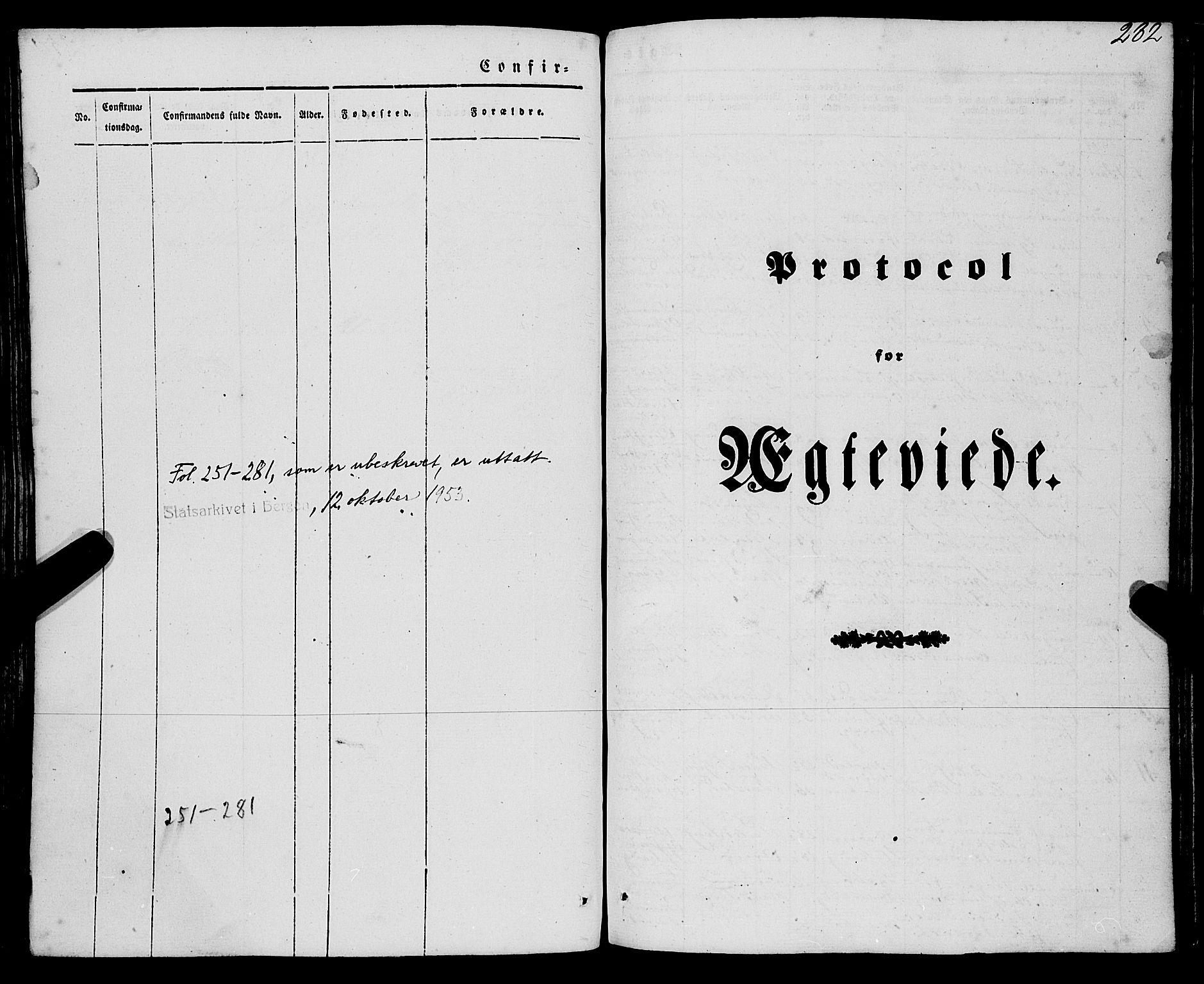SAB, Eid Sokneprestembete, H/Haa: Ministerialbok nr. A 7, 1844-1858, s. 282