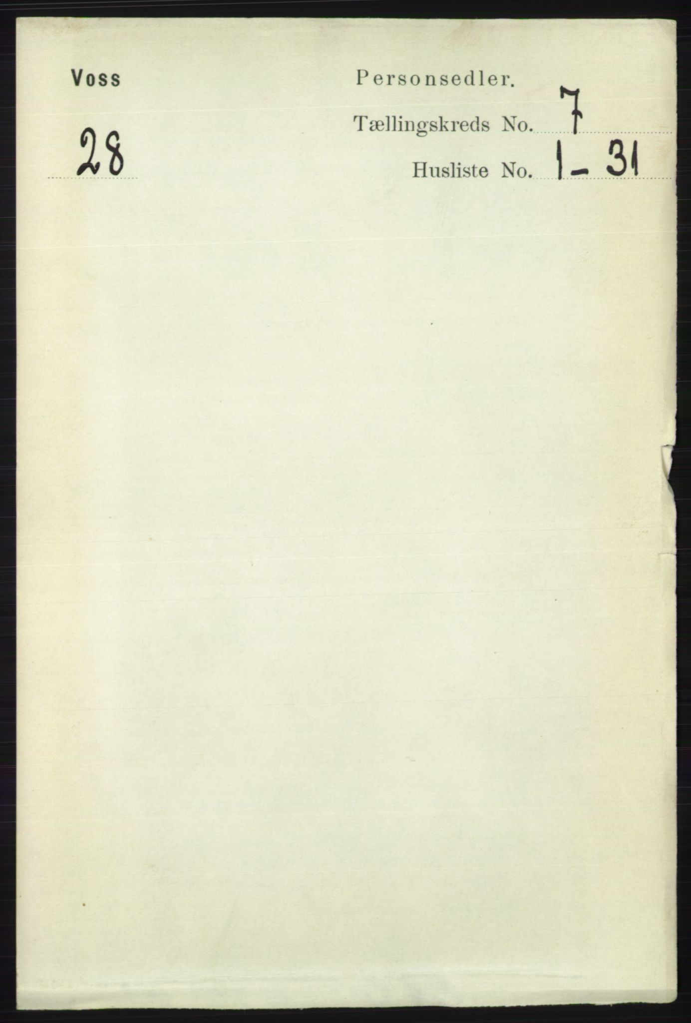 RA, Folketelling 1891 for 1235 Voss herred, 1891, s. 3793