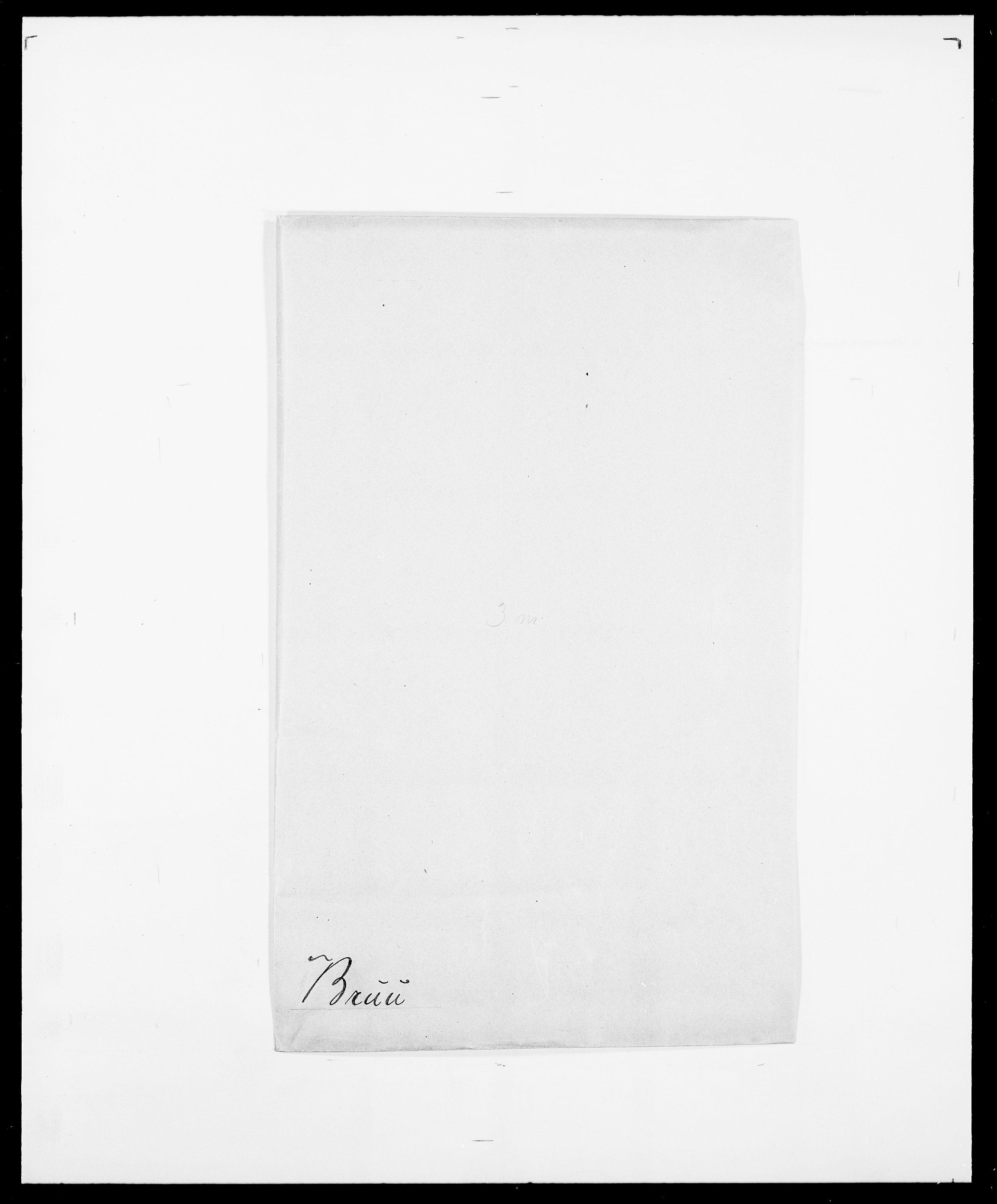 SAO, Delgobe, Charles Antoine - samling, D/Da/L0006: Brambani - Brønø, s. 855