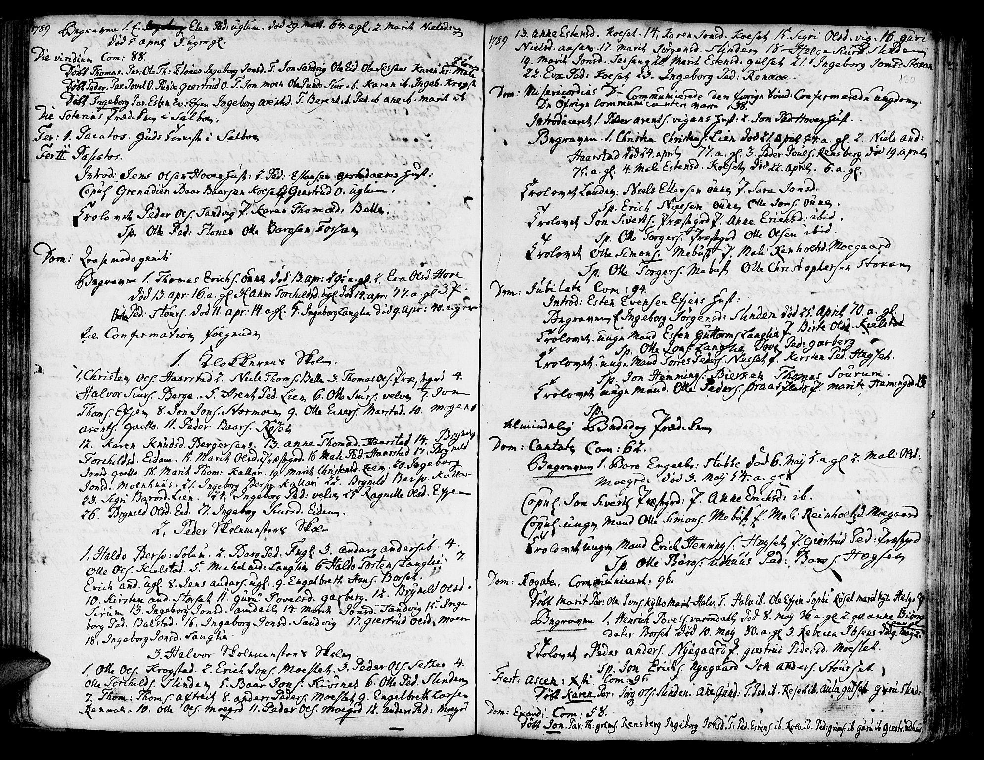 SAT, Ministerialprotokoller, klokkerbøker og fødselsregistre - Sør-Trøndelag, 695/L1138: Ministerialbok nr. 695A02 /1, 1757-1801, s. 130