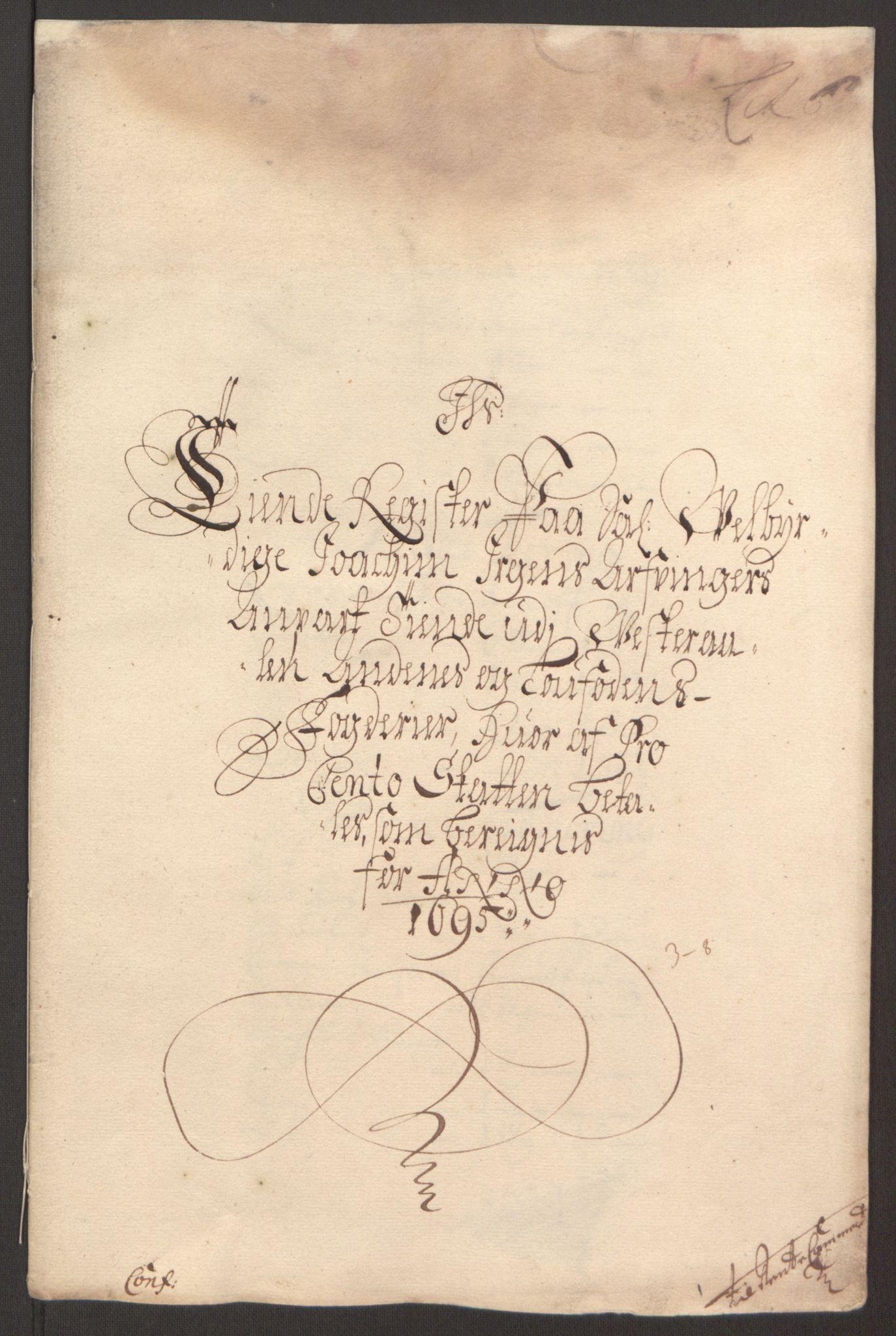 RA, Rentekammeret inntil 1814, Reviderte regnskaper, Fogderegnskap, R67/L4677: Fogderegnskap Vesterålen, Andenes og Lofoten, 1694-1695, s. 226