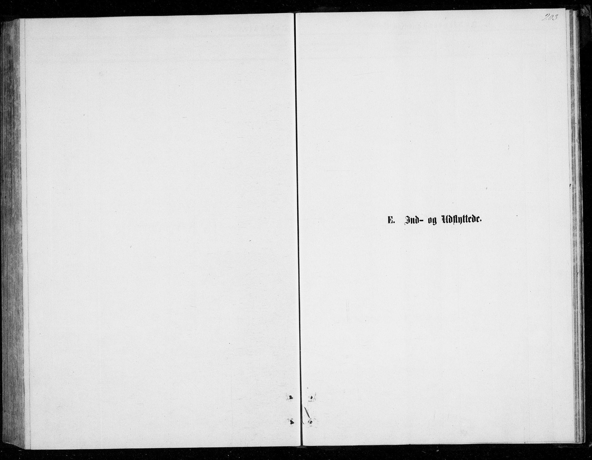 SATØ, Mefjord/Berg sokneprestkontor, G/Ga/Gab/L0003klokker: Klokkerbok nr. 3, 1874-1886, s. 203