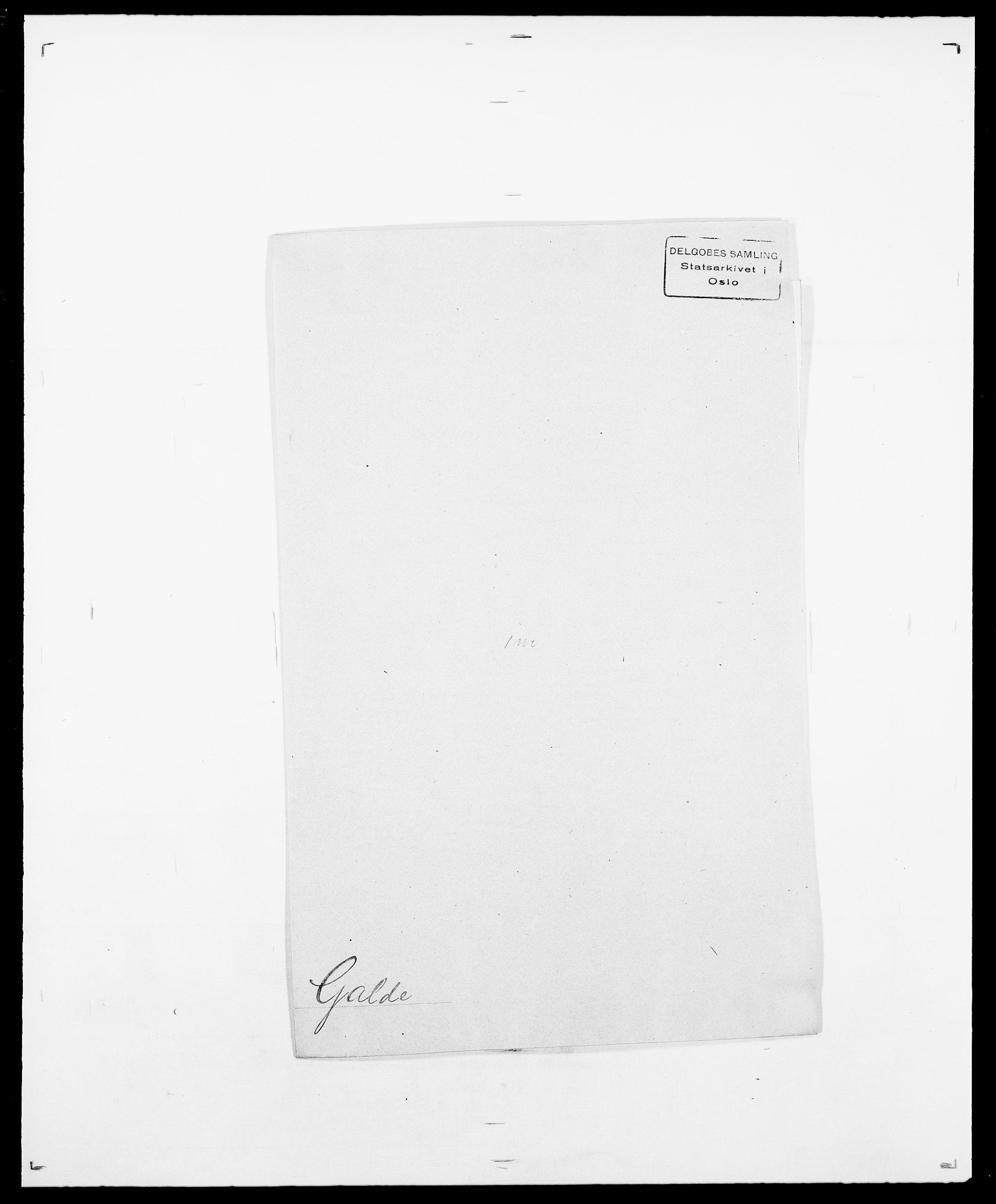 SAO, Delgobe, Charles Antoine - samling, D/Da/L0013: Forbos - Geving, s. 405