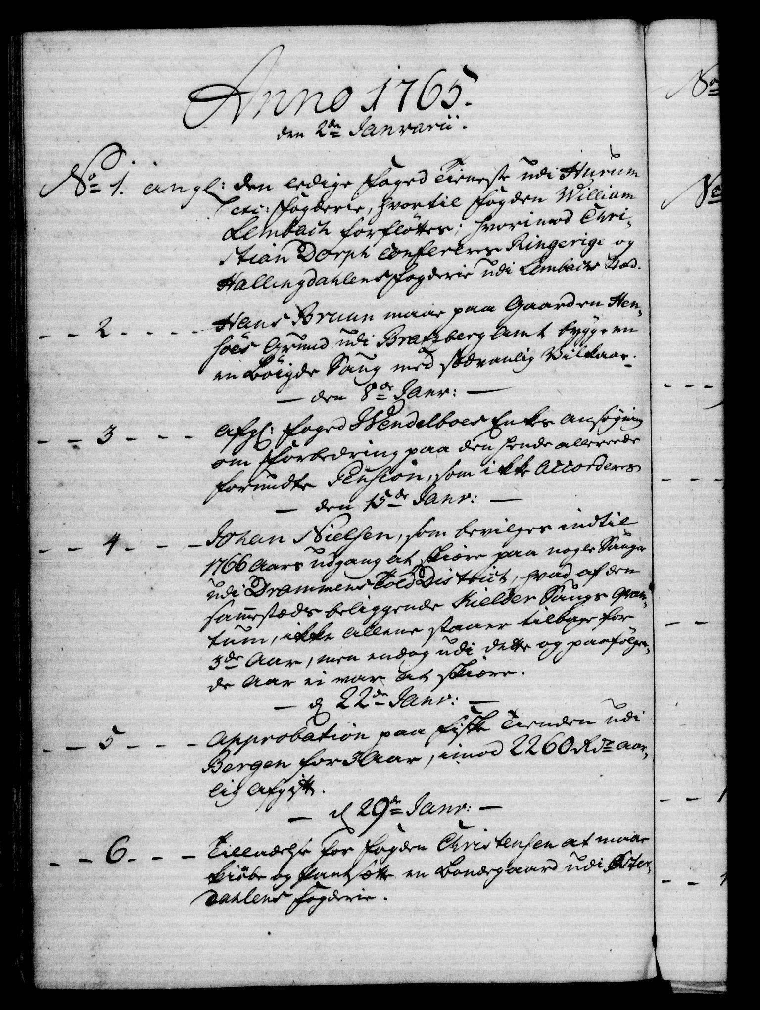 RA, Rentekammeret, Kammerkanselliet, G/Gf/Gfb/L0006: Register til norske relasjons- og resolusjonsprotokoller (merket RK 52.101), 1755-1765, s. 256