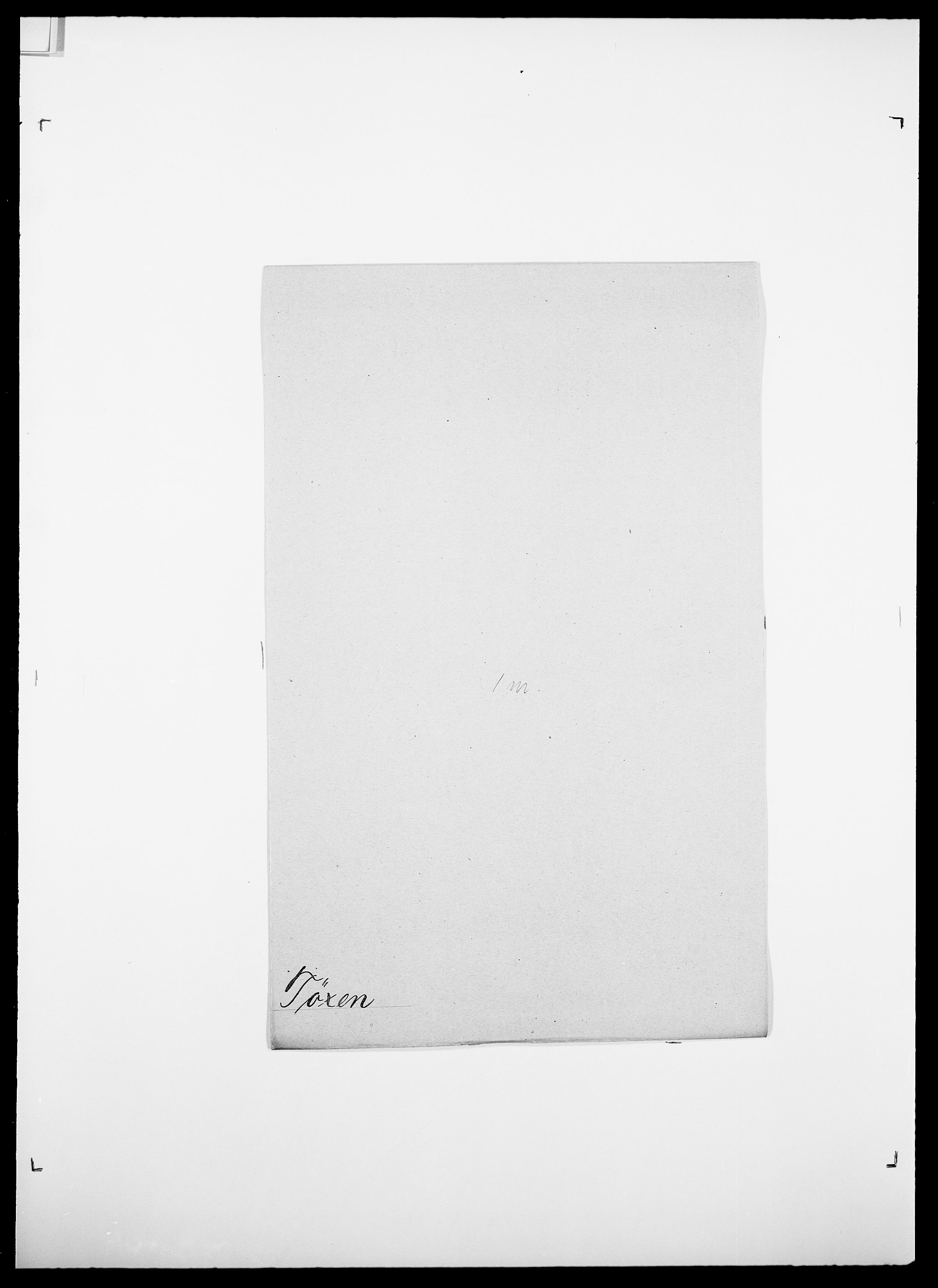 SAO, Delgobe, Charles Antoine - samling, D/Da/L0039: Thorsen - Urup, s. 613