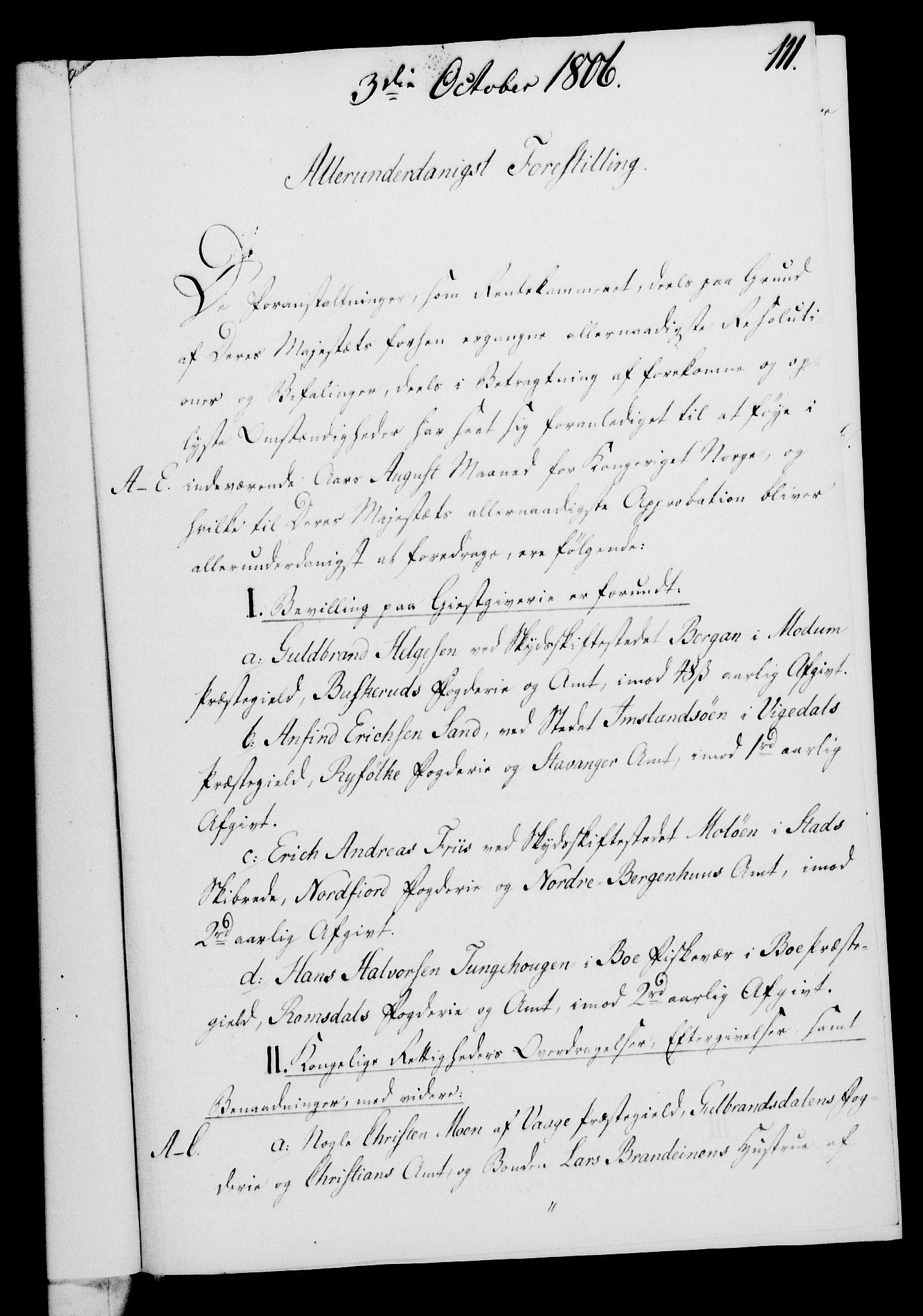 RA, Rentekammeret, Kammerkanselliet, G/Gf/Gfa/L0088: Norsk relasjons- og resolusjonsprotokoll (merket RK 52.88), 1806, s. 666