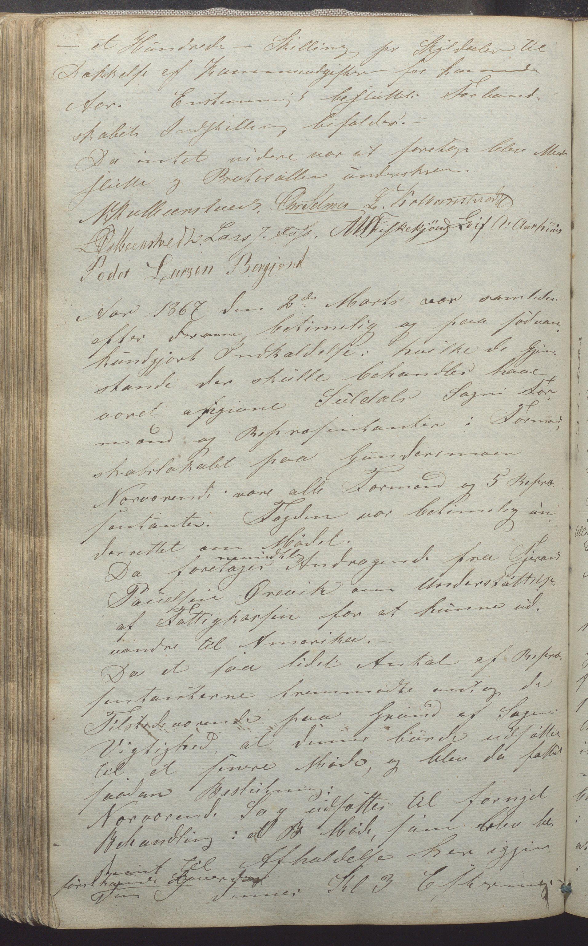 IKAR, Suldal kommune - Formannskapet/Rådmannen, A/Aa/L0001: Møtebok, 1837-1876, s. 160b