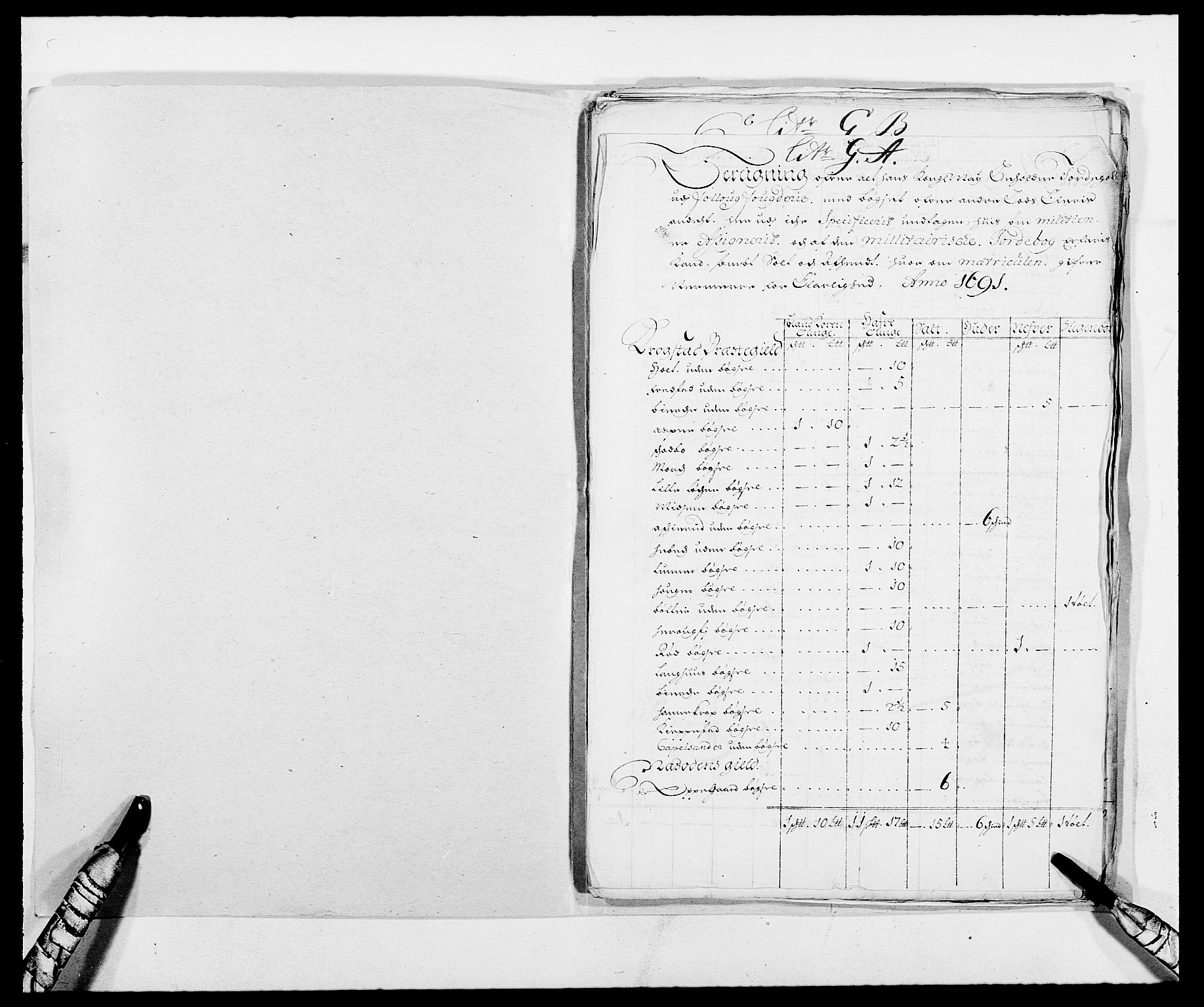 RA, Rentekammeret inntil 1814, Reviderte regnskaper, Fogderegnskap, R09/L0435: Fogderegnskap Follo, 1689-1691, s. 405