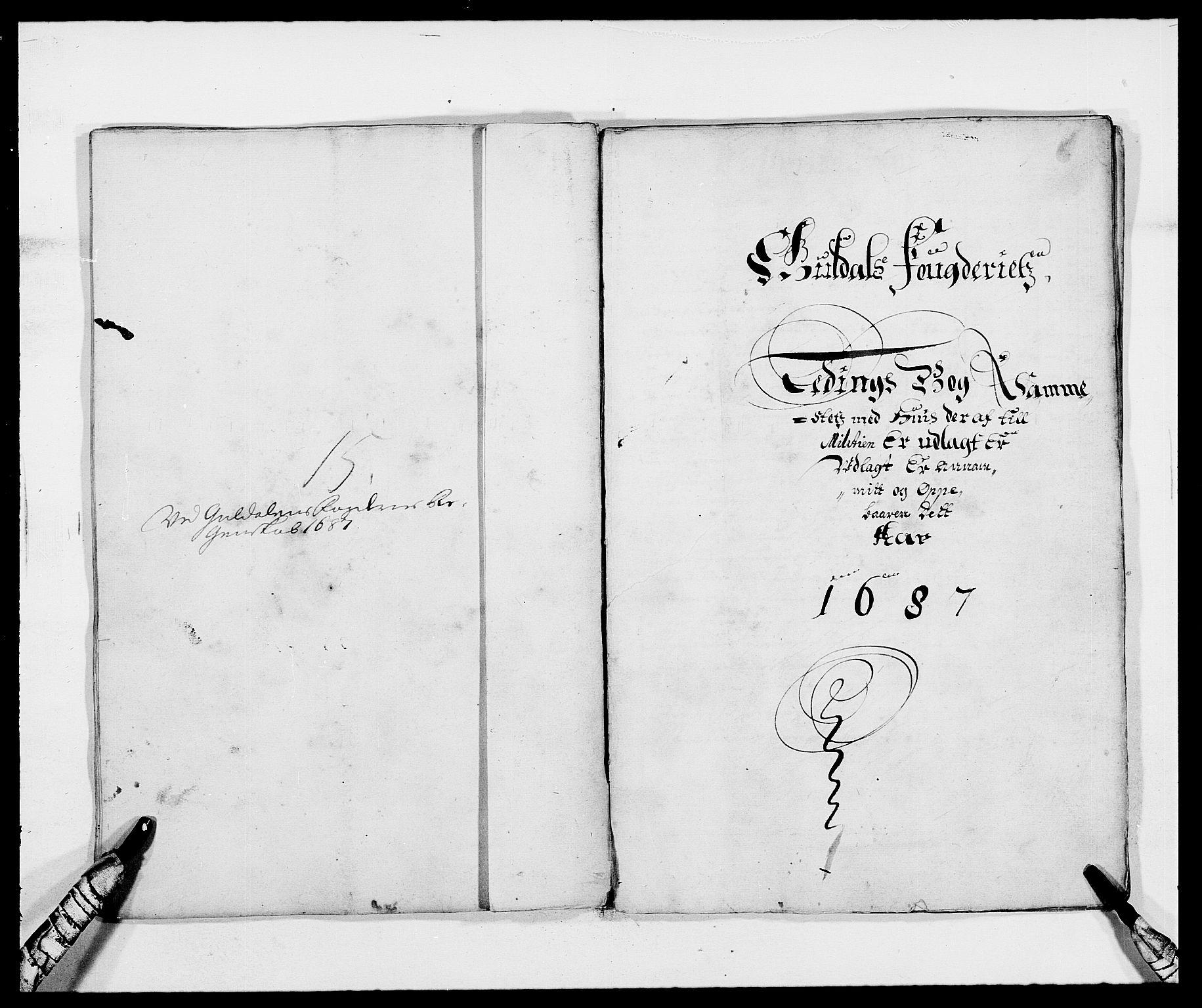 RA, Rentekammeret inntil 1814, Reviderte regnskaper, Fogderegnskap, R59/L3939: Fogderegnskap Gauldal, 1687-1688, s. 72