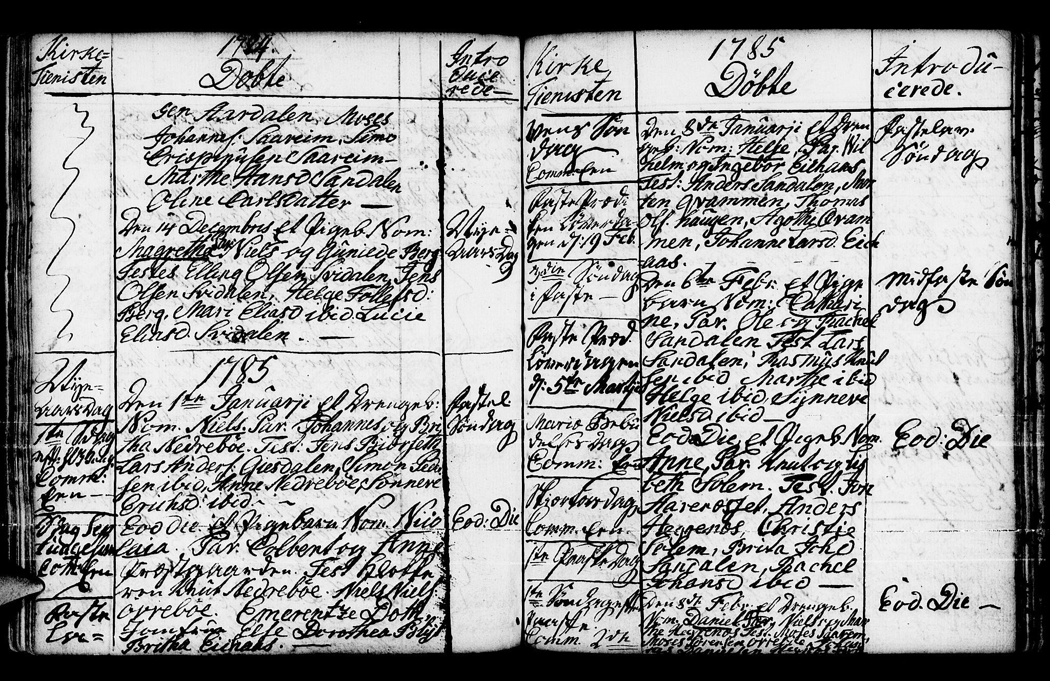 SAB, Jølster Sokneprestembete, Ministerialbok nr. A 3, 1748-1789, s. 200