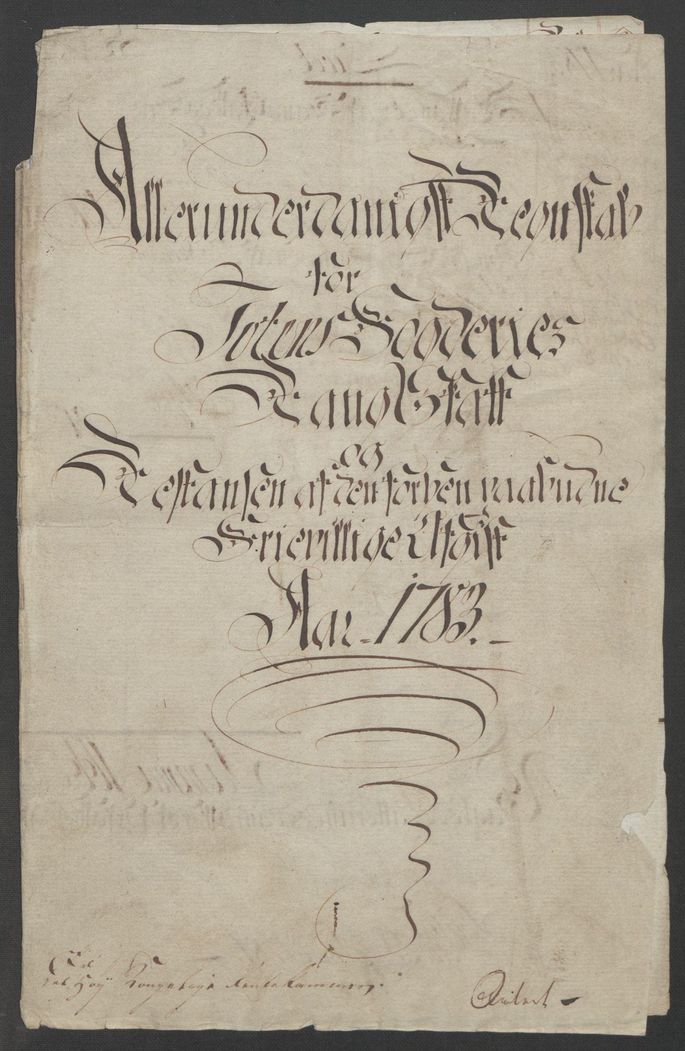 RA, Rentekammeret inntil 1814, Reviderte regnskaper, Fogderegnskap, R19/L1399: Fogderegnskap Toten, Hadeland og Vardal, 1762-1783, s. 566